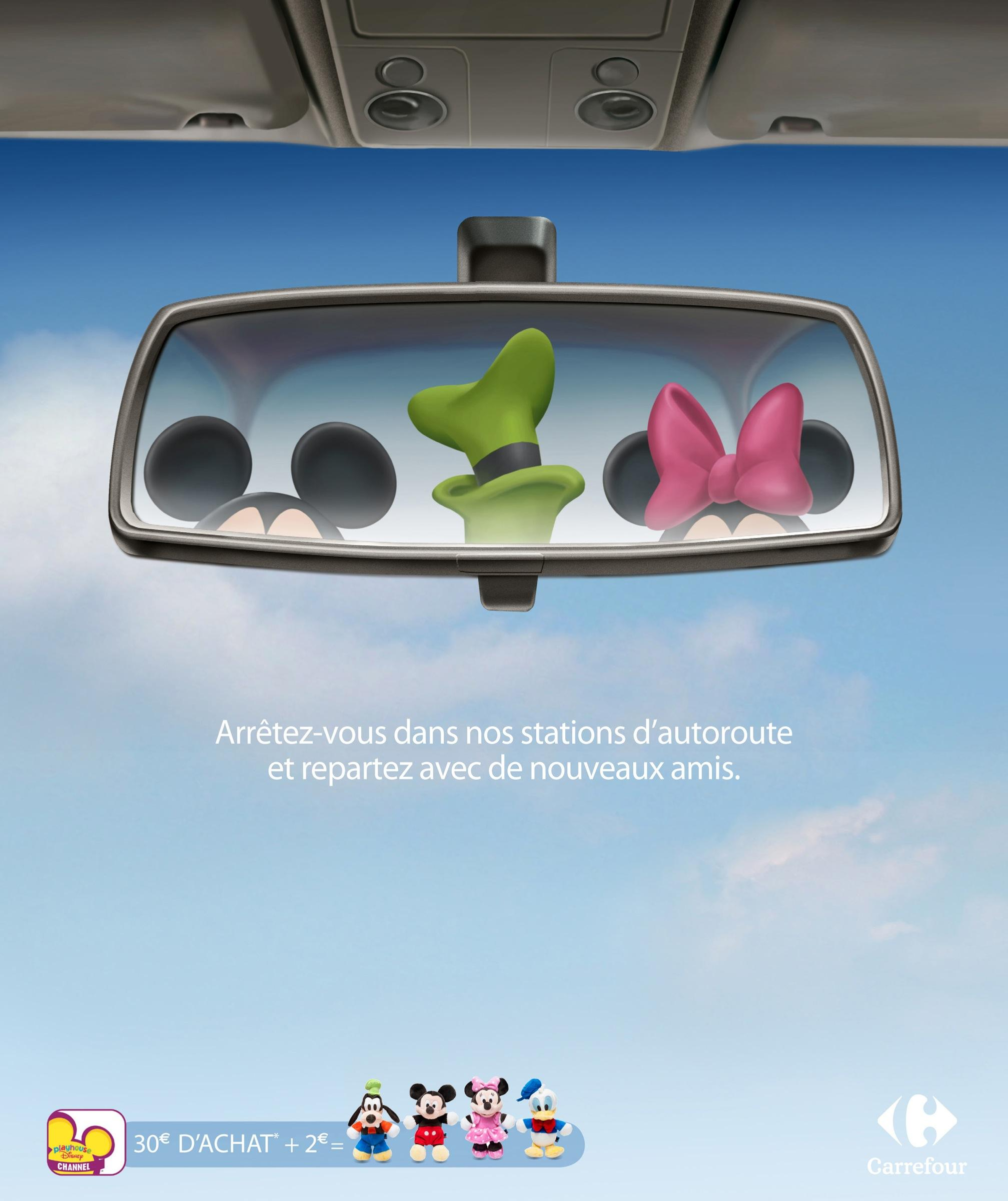 Carrefour Outdoor Ad -  Puppets