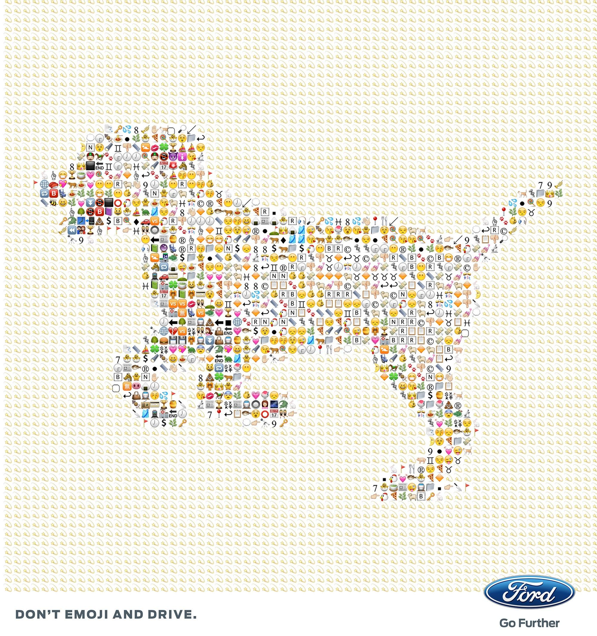Ford Digital Ad -  #WorldEmojiDay, 1