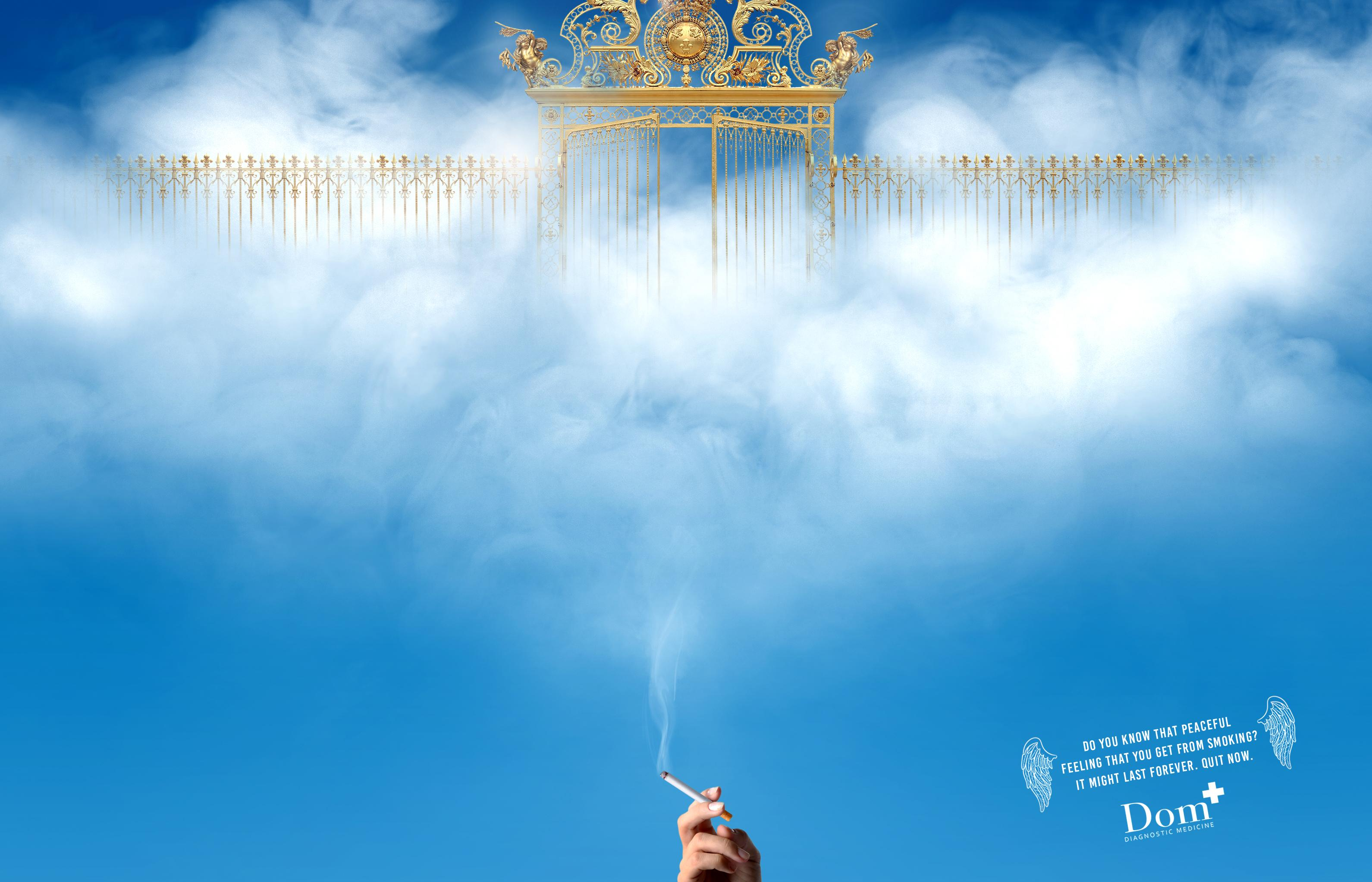 Dom Diagnostic Medicine Print Ad - Stop Smoking