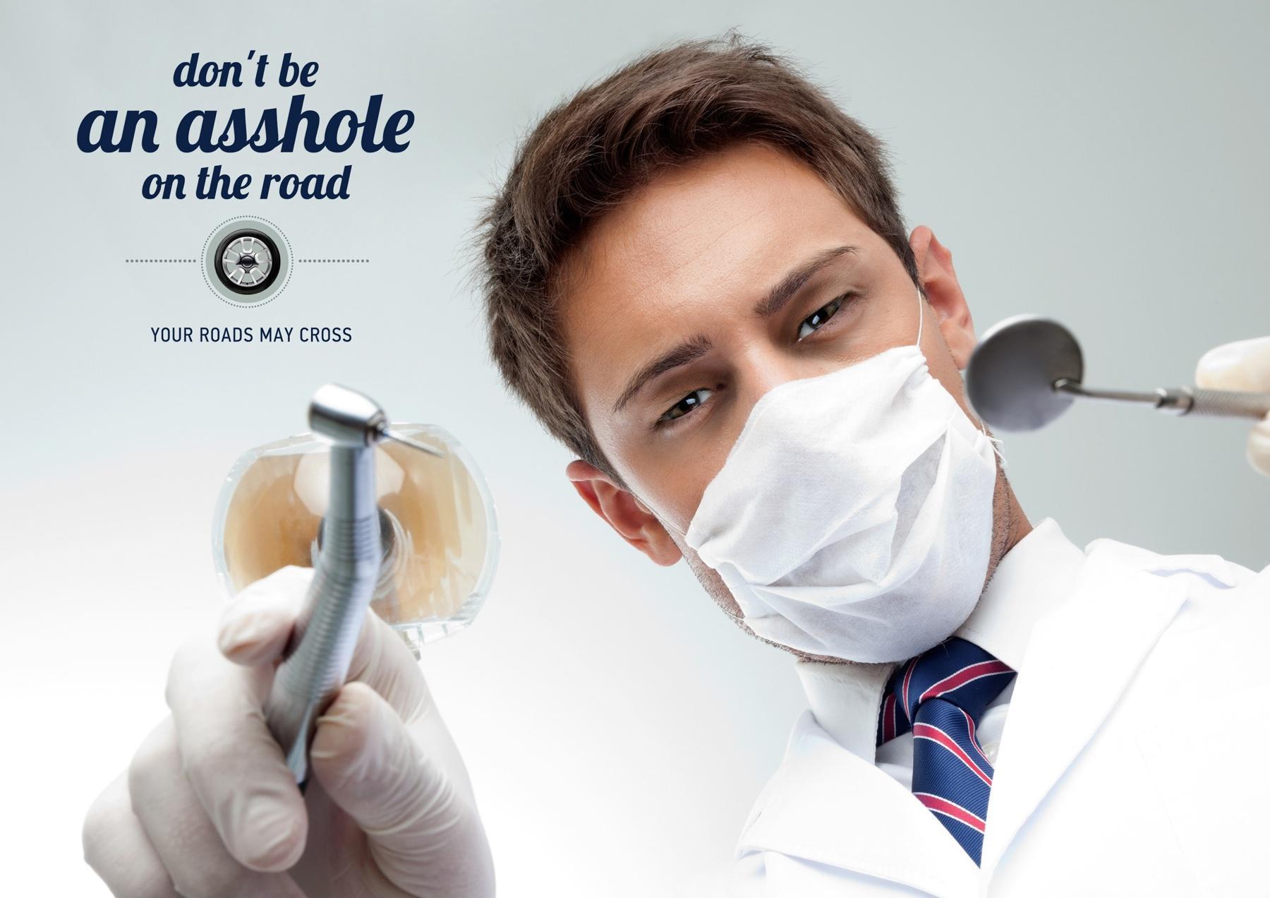VkusnoDorogo Print Ad -  Dentist