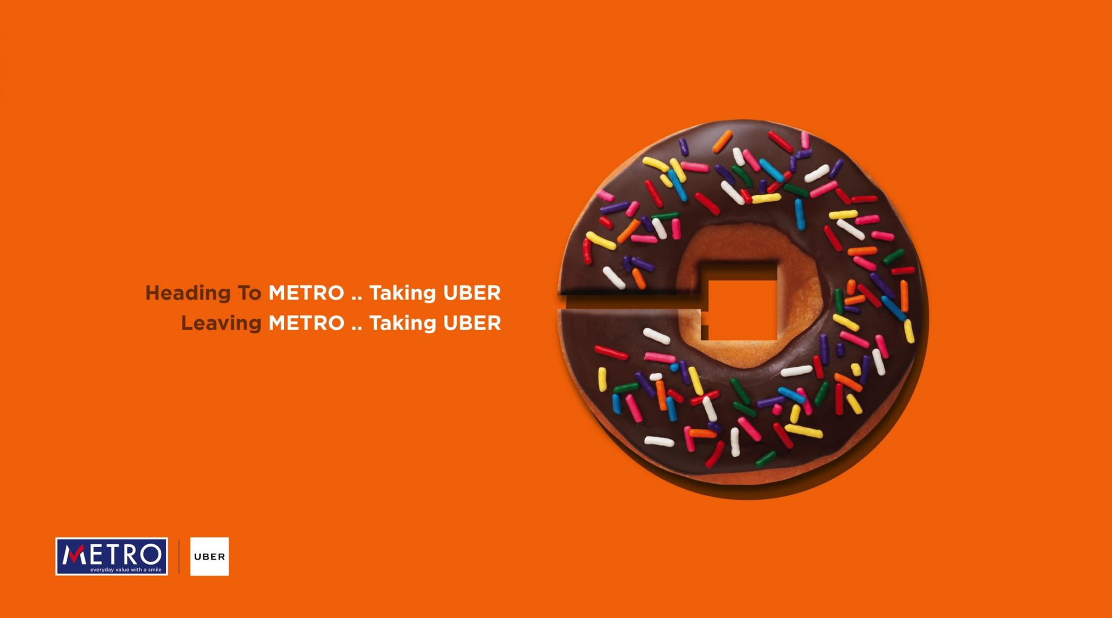 Metro Print Ad - Donut