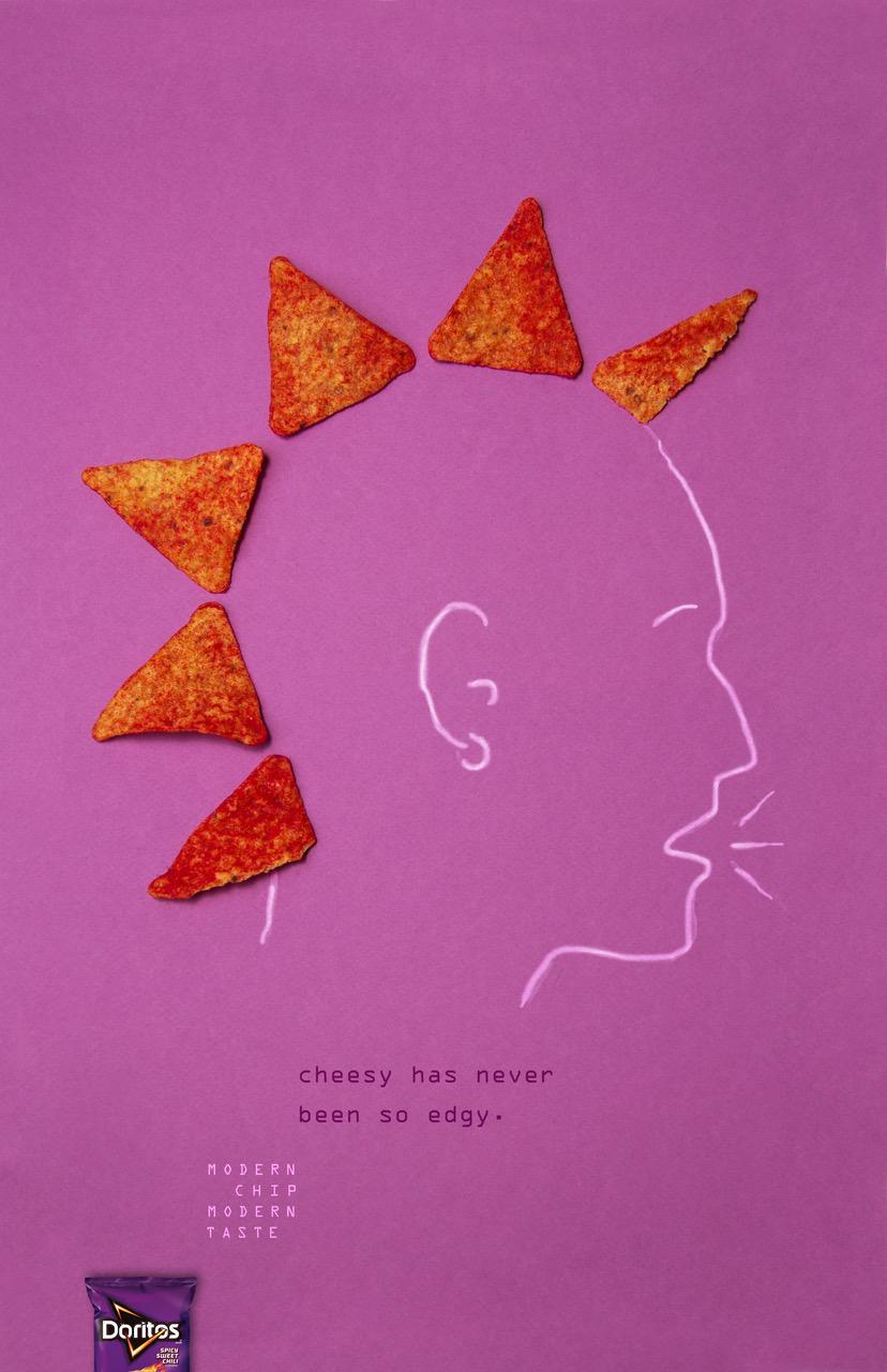 Doritos Print Ad - Modern Chip, 1