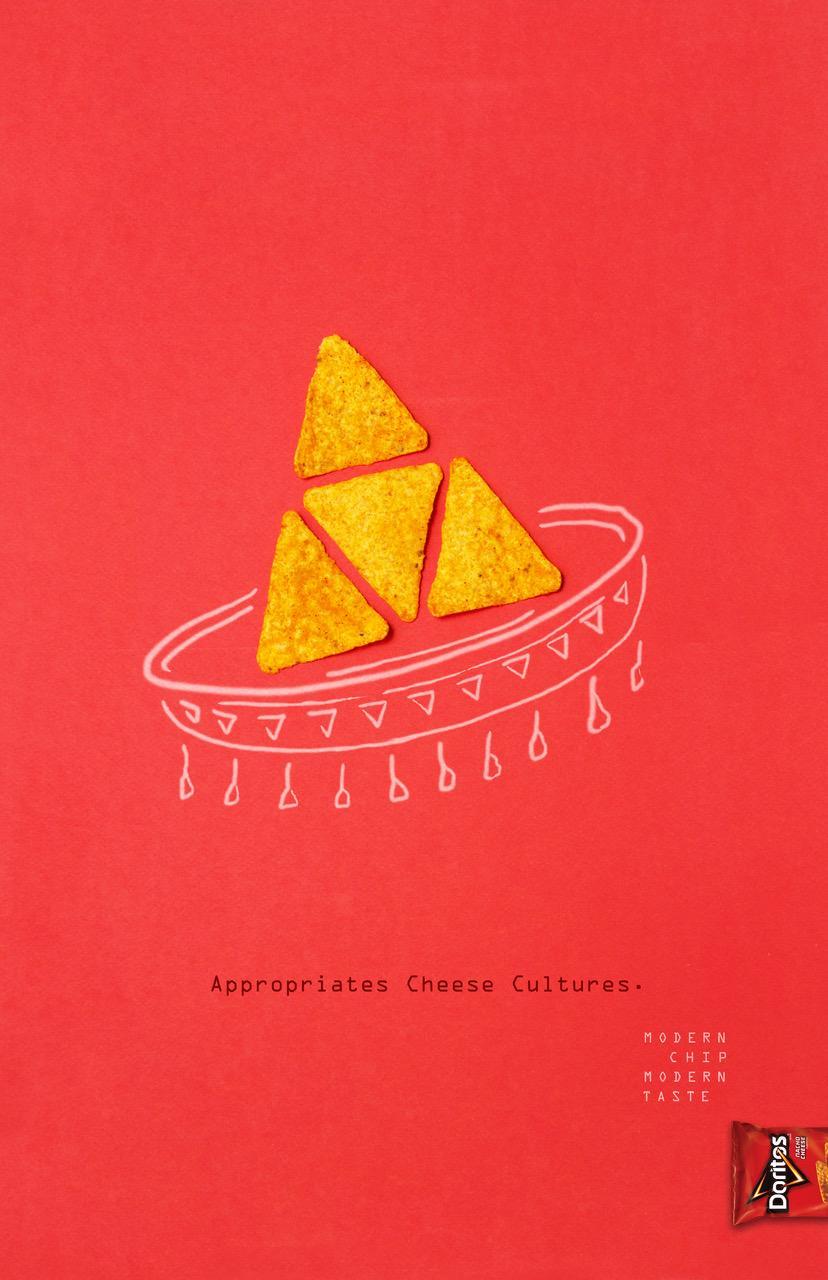 Doritos Print Ad - Modern Chip, 3