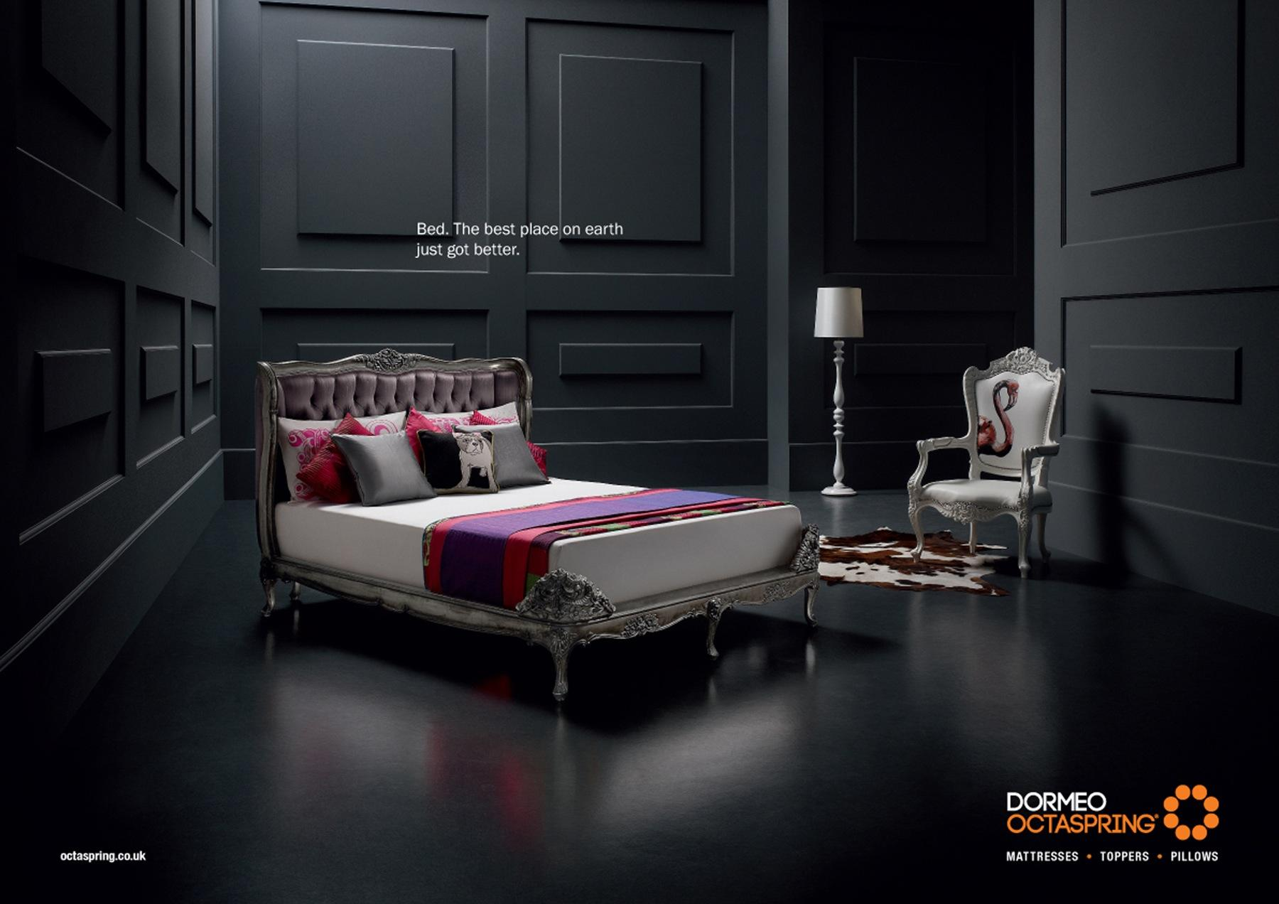Dormeo Print Ad -  Bed, 1