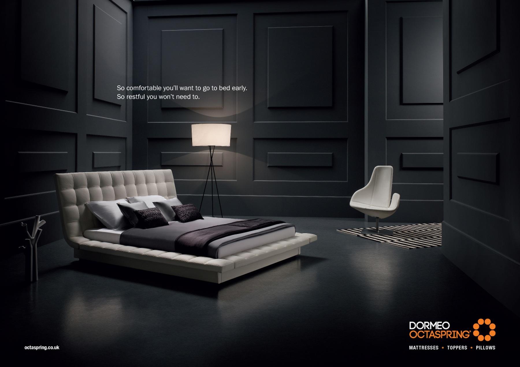 Dormeo Print Ad -  Bed, 2