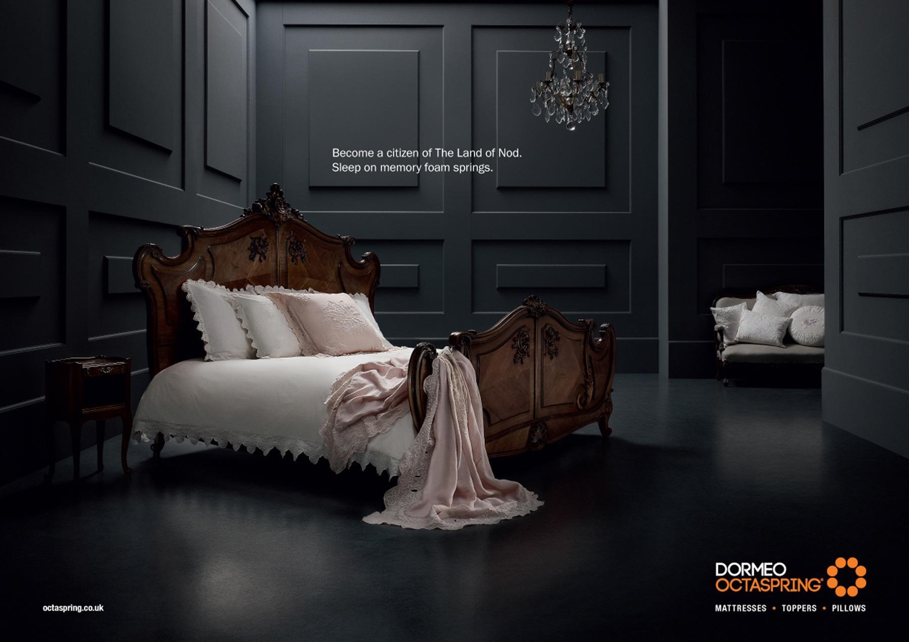 Dormeo Print Ad -  Bed, 3