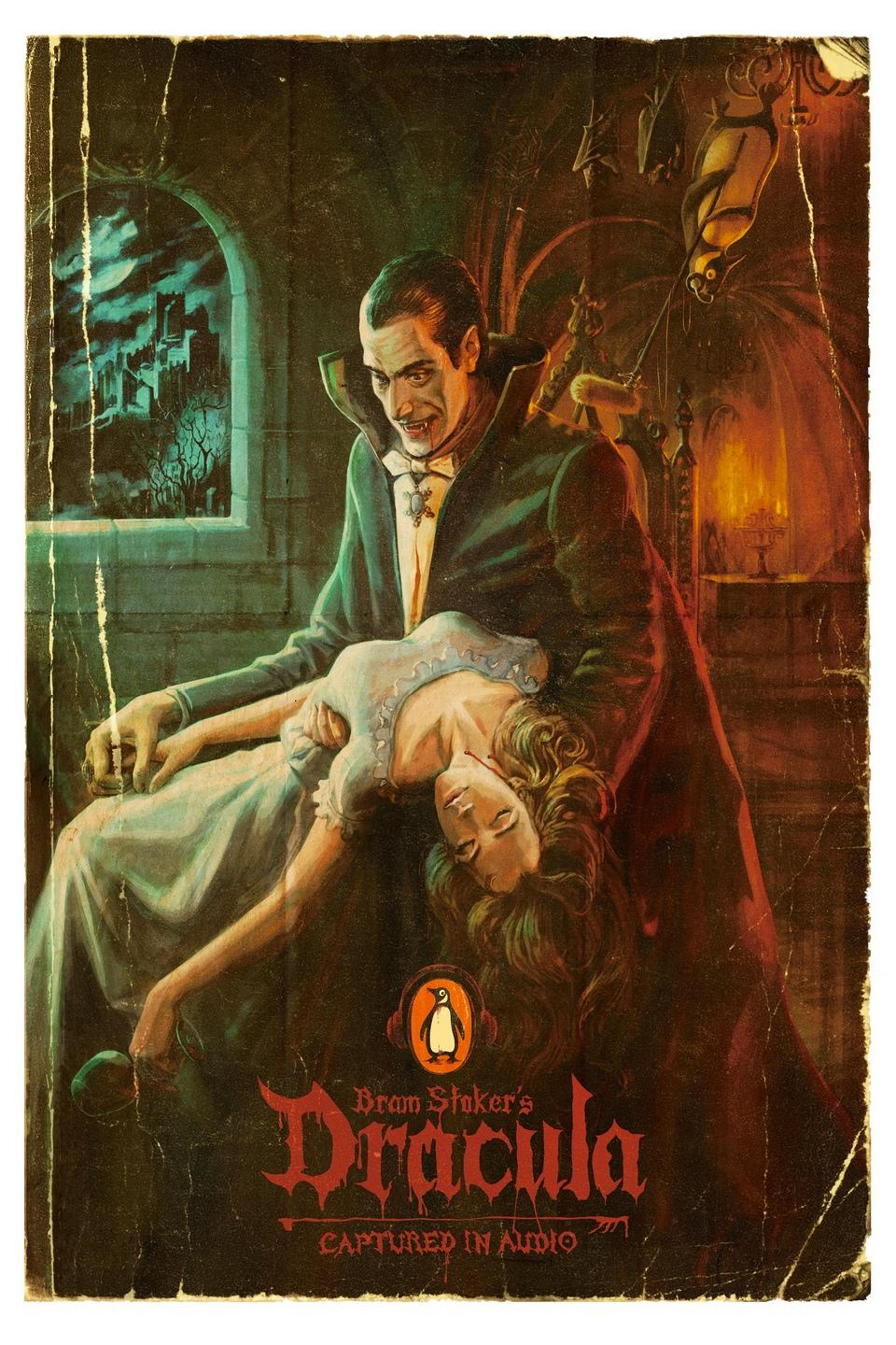 Penguin Outdoor Ad -  Dracula