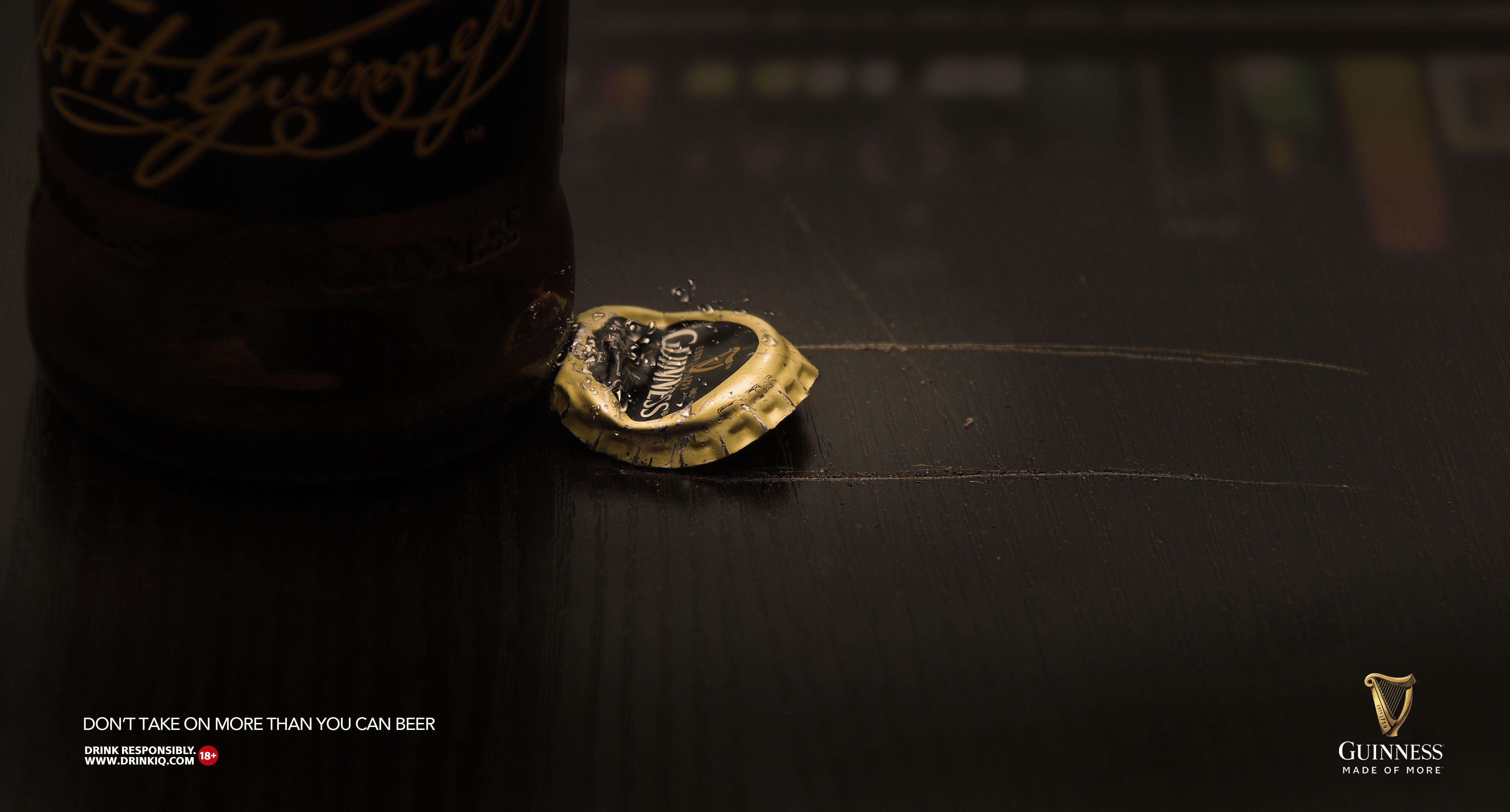 Guinness Print Ad - More Than You Can Beer, 2