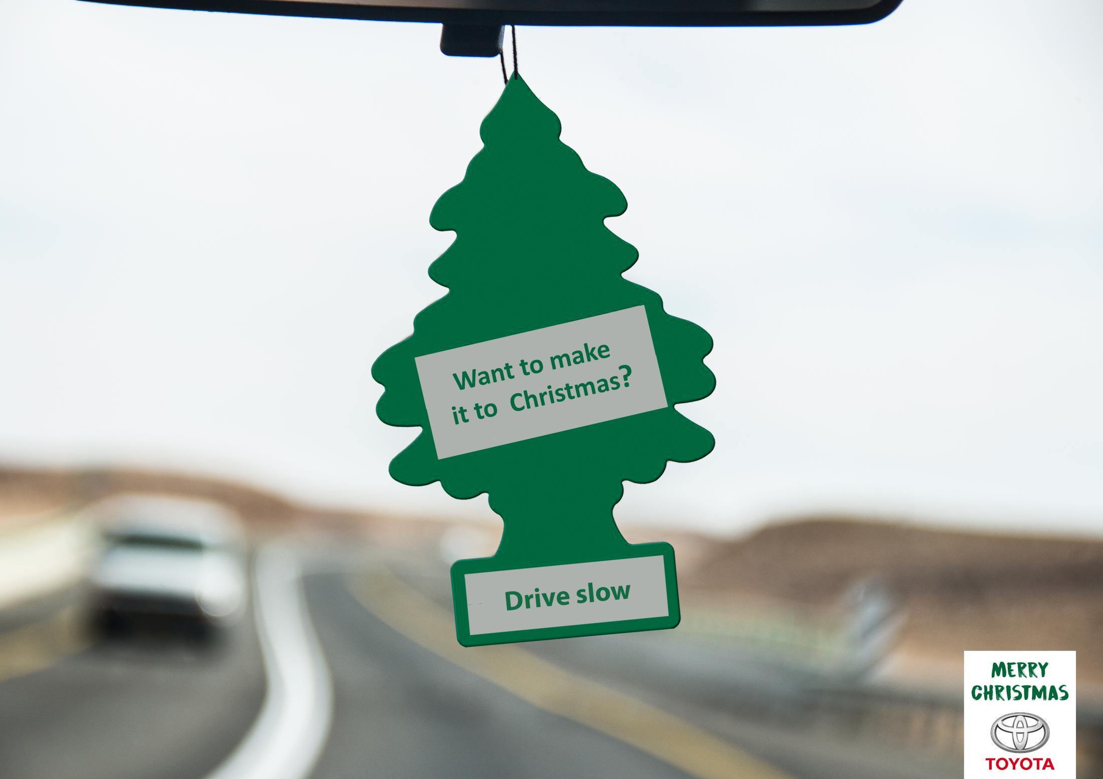 Toyota Print Ad - Merry Christmas