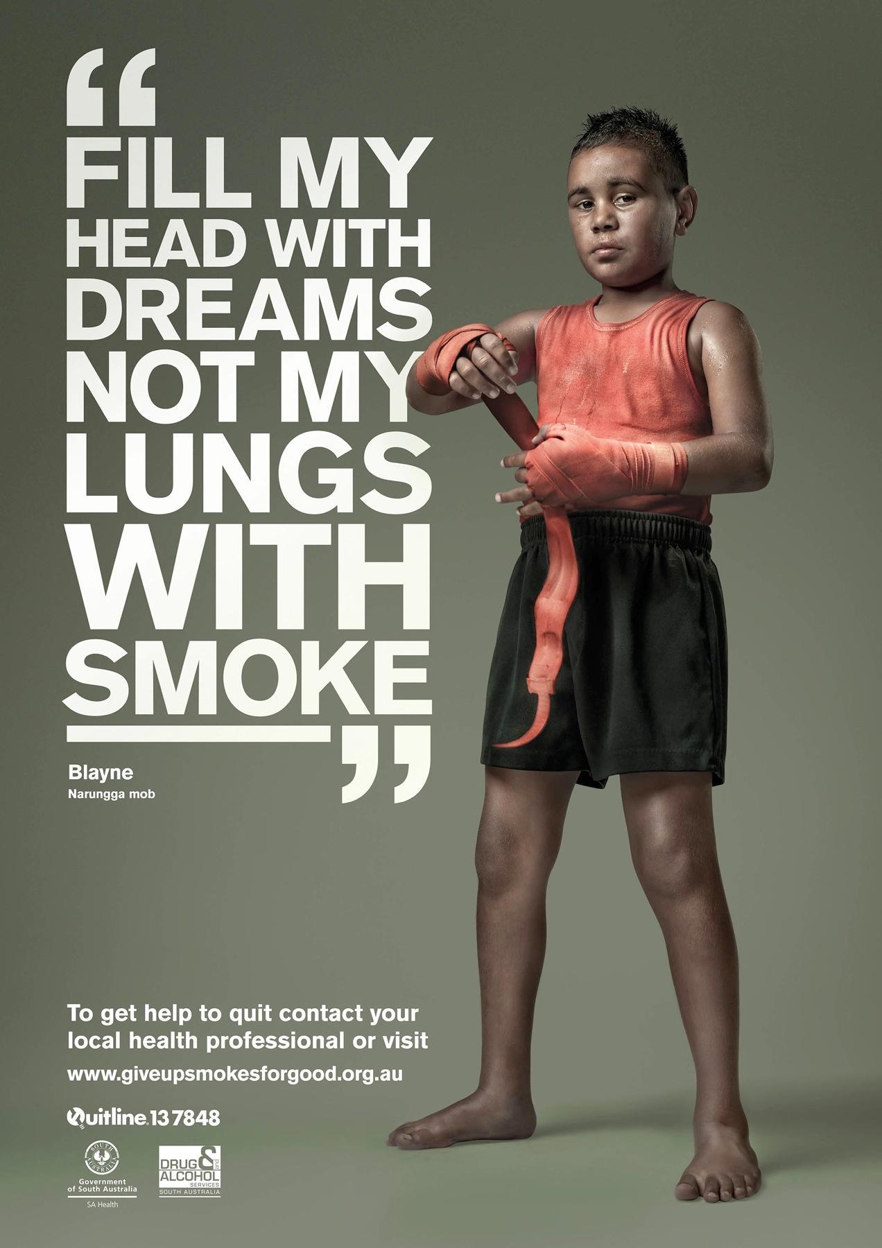 Drug & Alcohol Services South Australia Print Ad -  Blayne