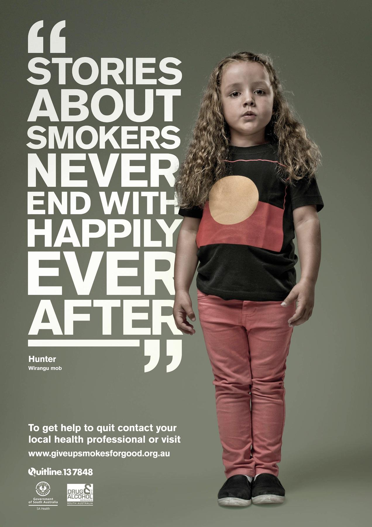 Drug & Alcohol Services South Australia Print Ad -  Hunter