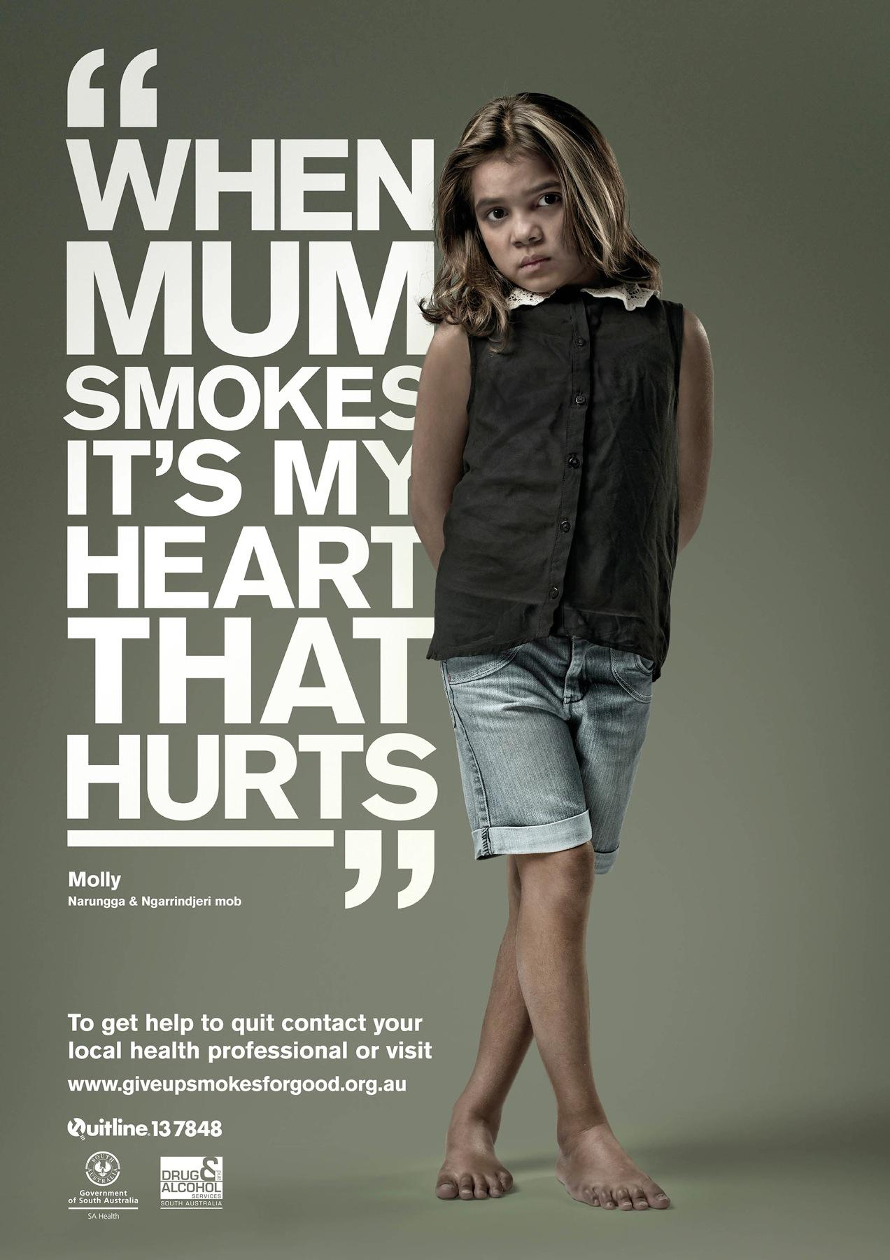 Drug & Alcohol Services South Australia Print Ad -  Molly