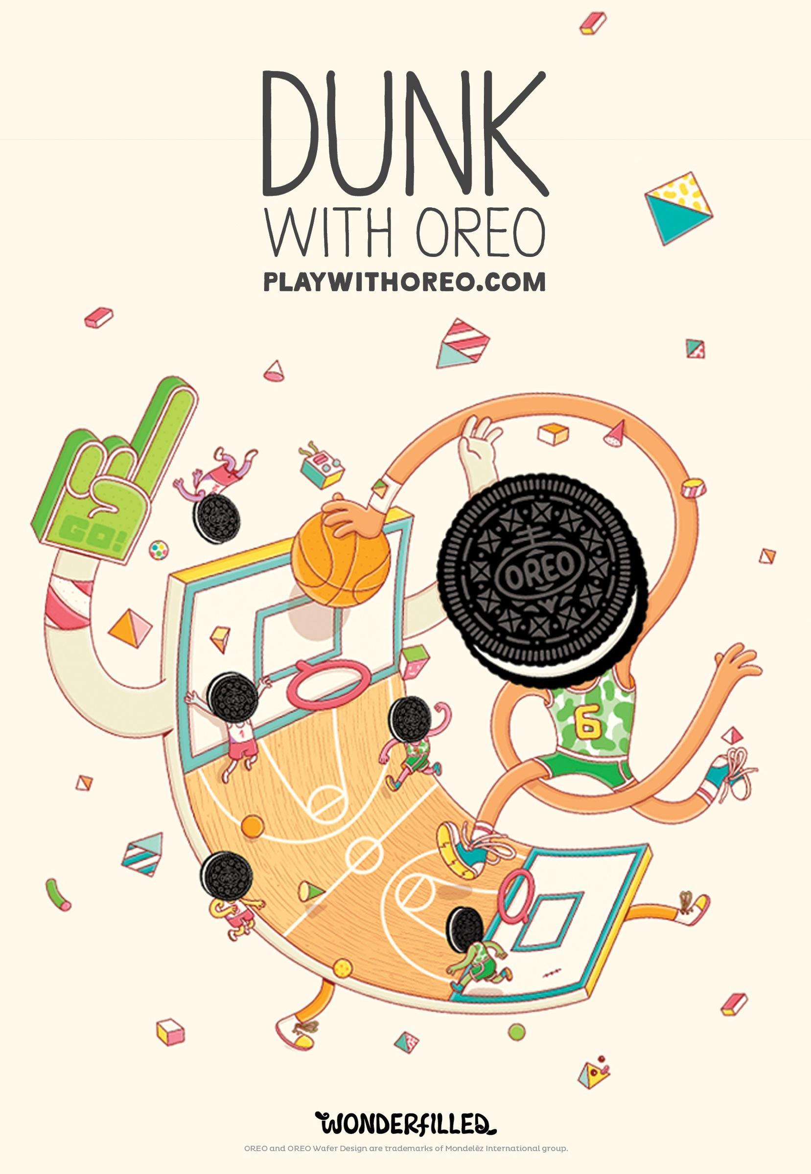 Oreo Outdoor Ad -  Wonderfilled, 11