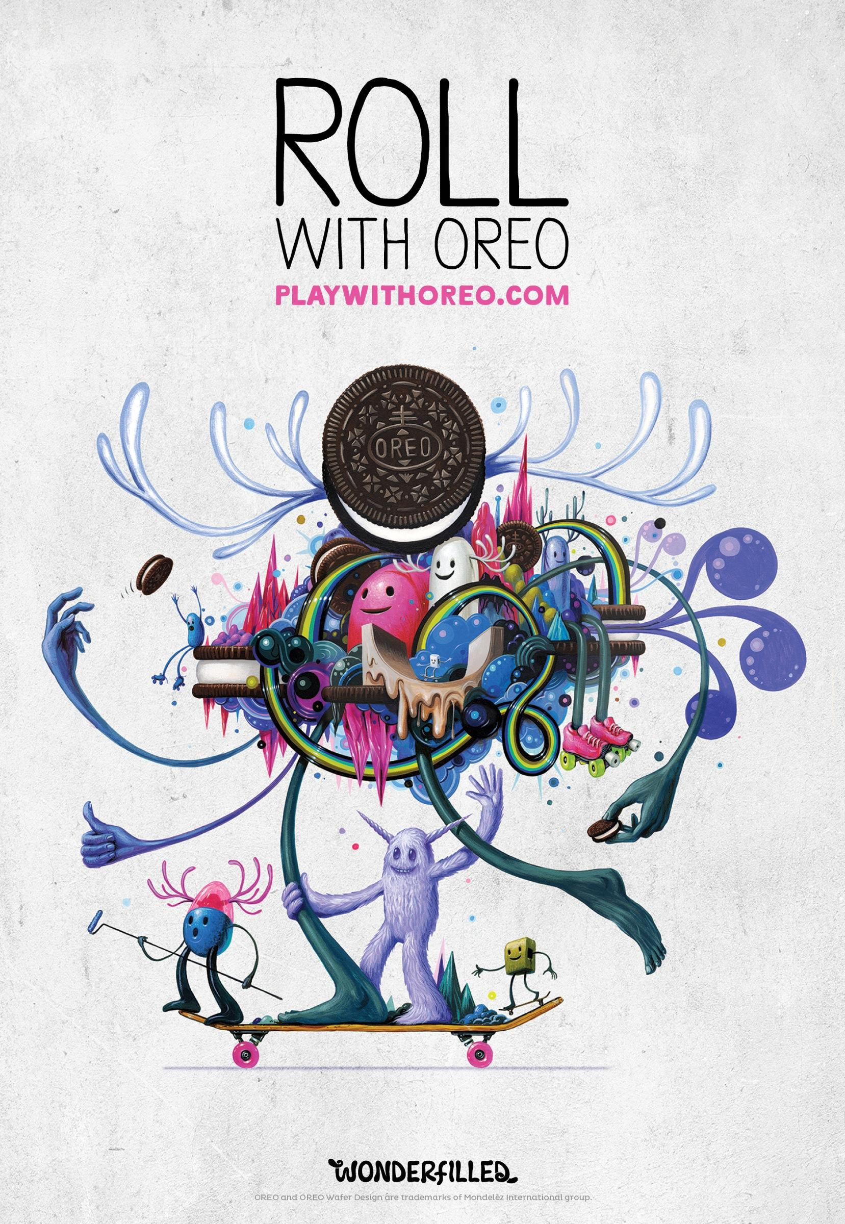 Oreo Outdoor Ad -  Wonderfilled, 4