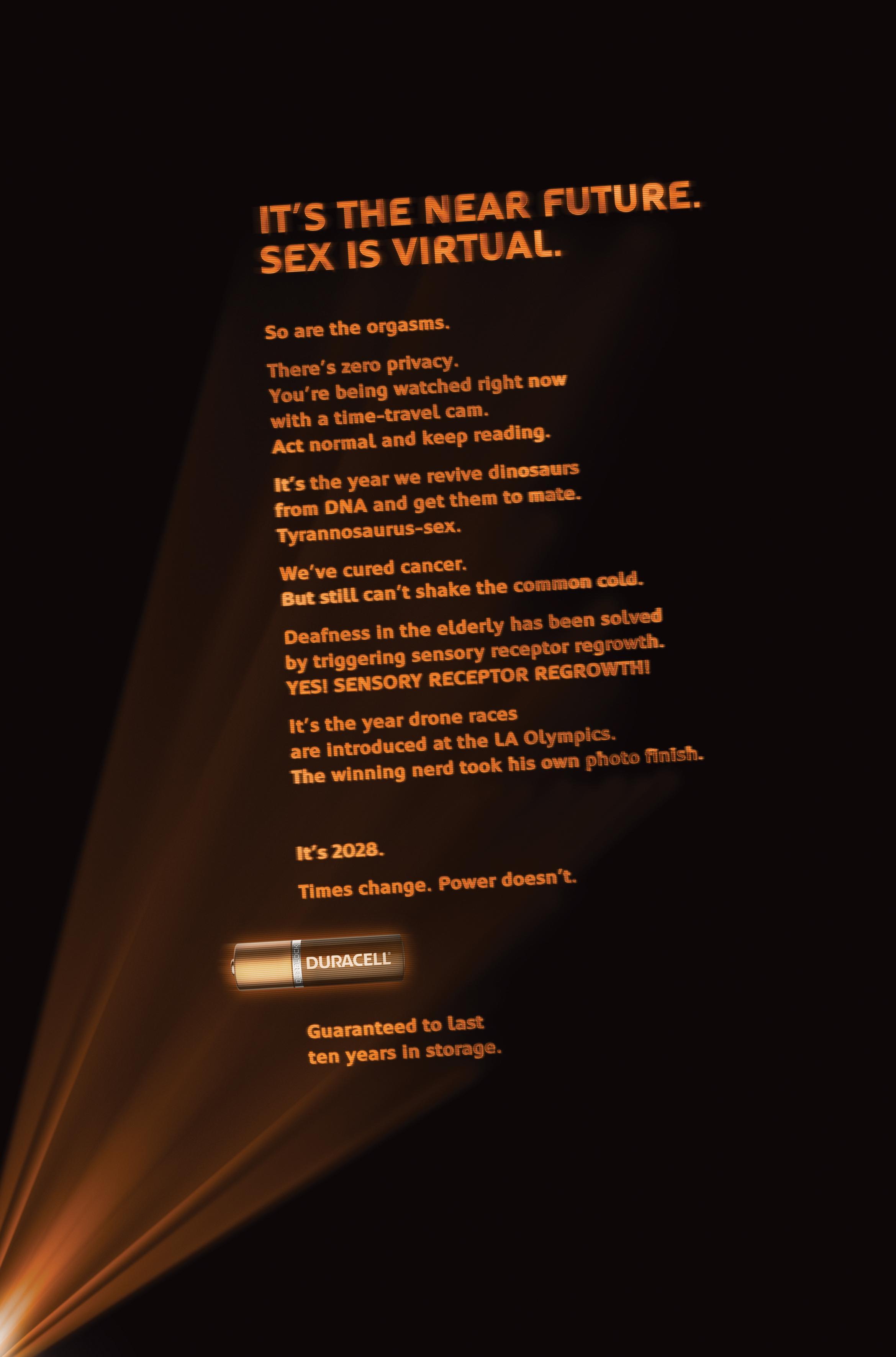 Duracell Print Ad - Sex