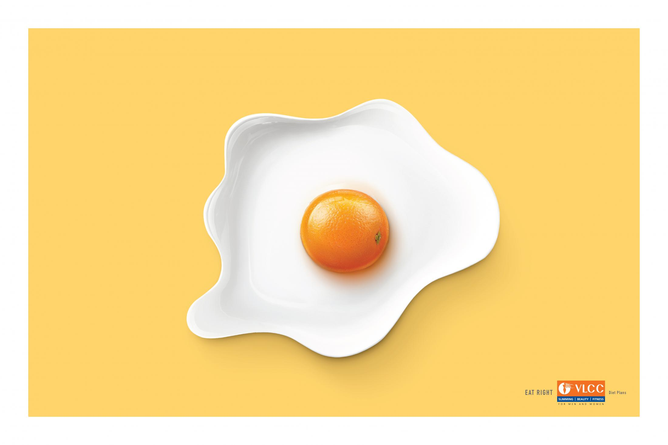 VLCC Print Ad - Eat Right, 3