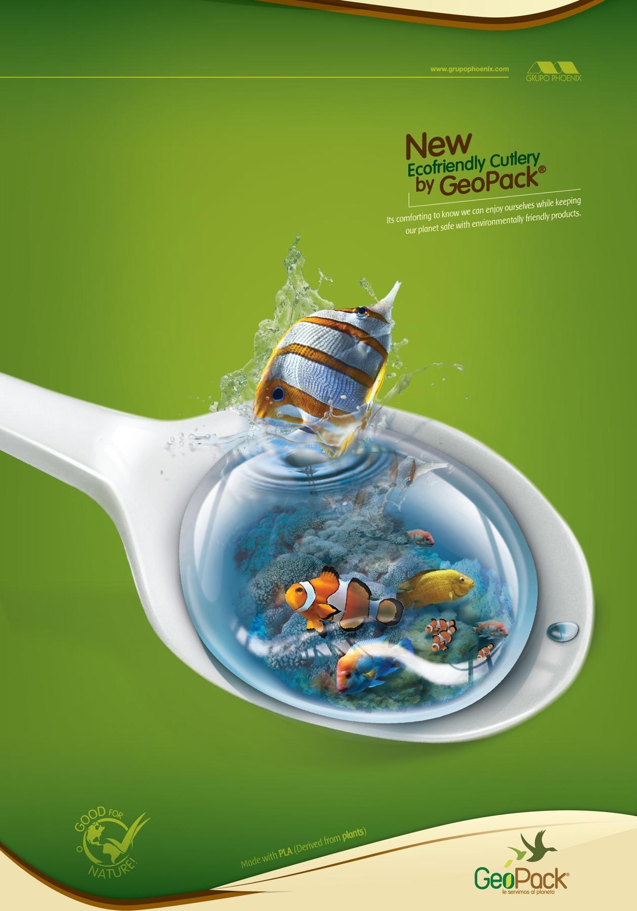 GeoPack Print Ad -  Spoon