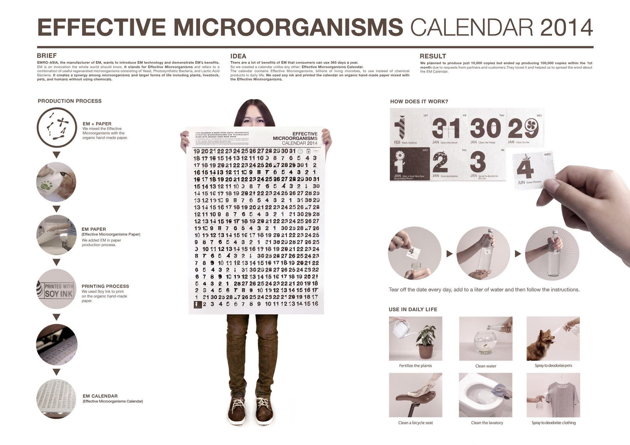 EM Ambient Ad -  Effective Microorganisms calendar