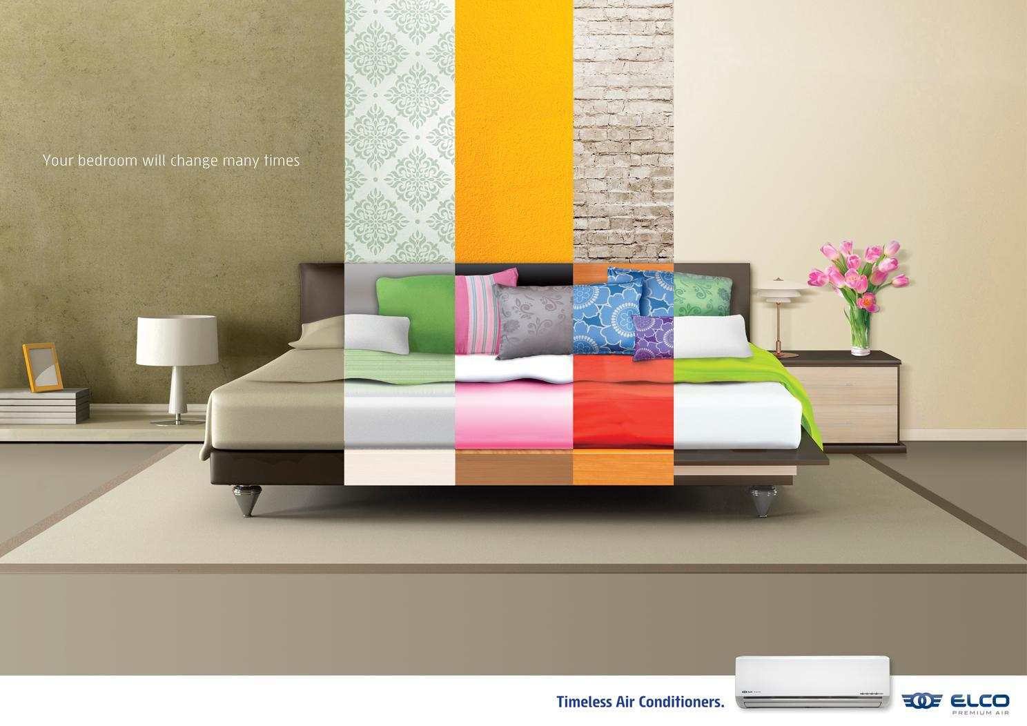 ELCO Premium Air Print Ad -  Bedroom