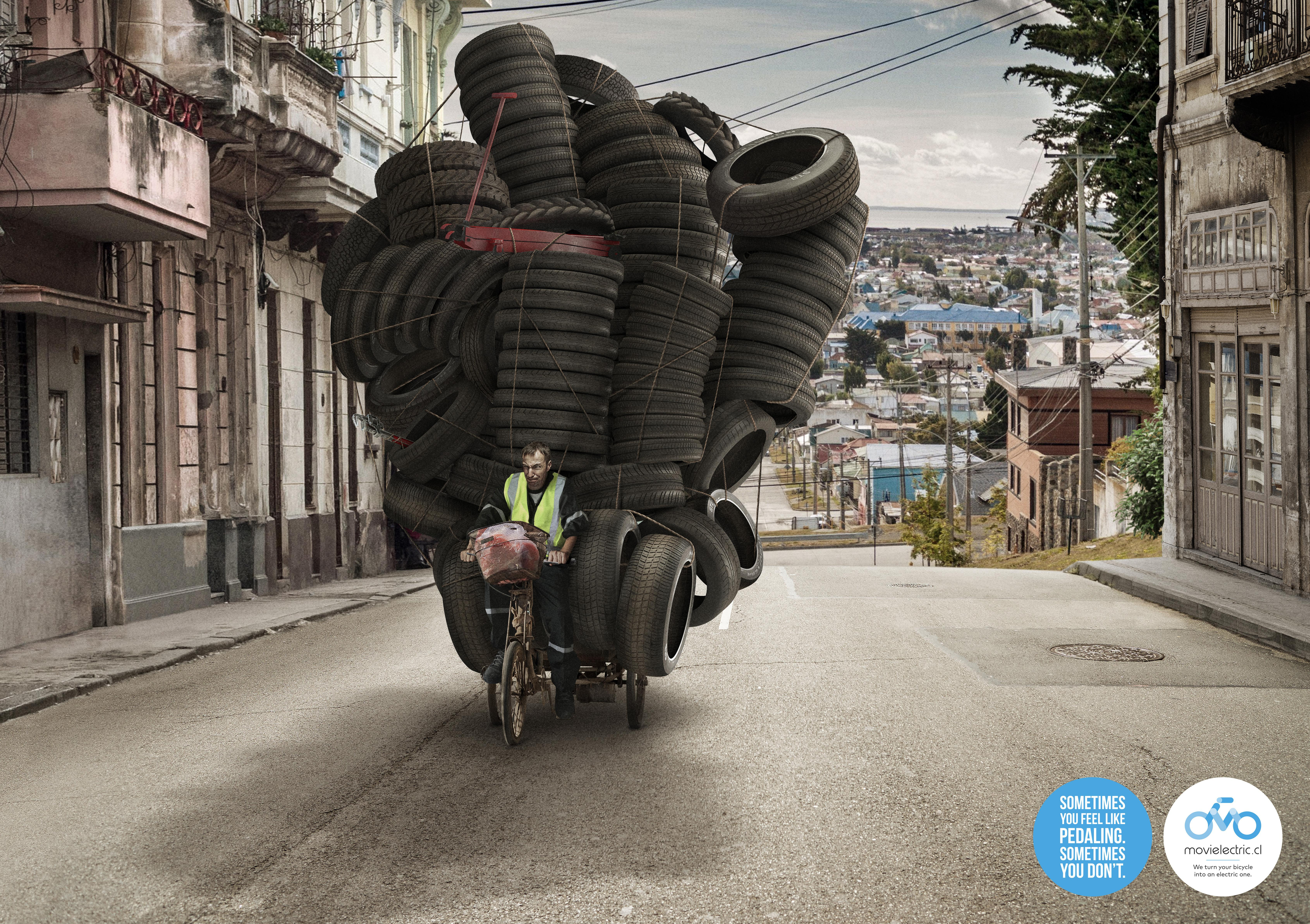 Movielectric Print Ad - Electric Bicycle