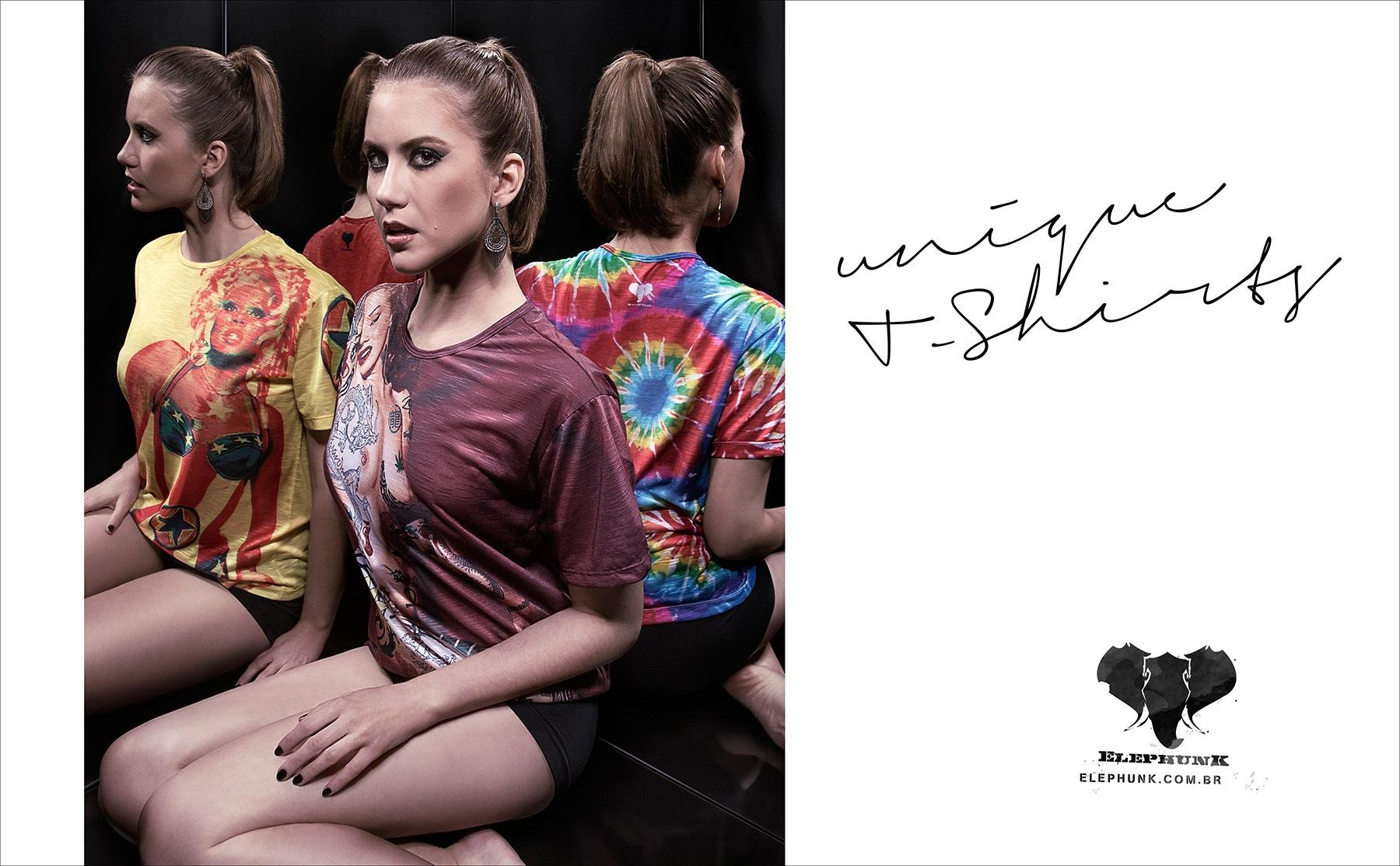 Elephunk Print Ad -  Girl