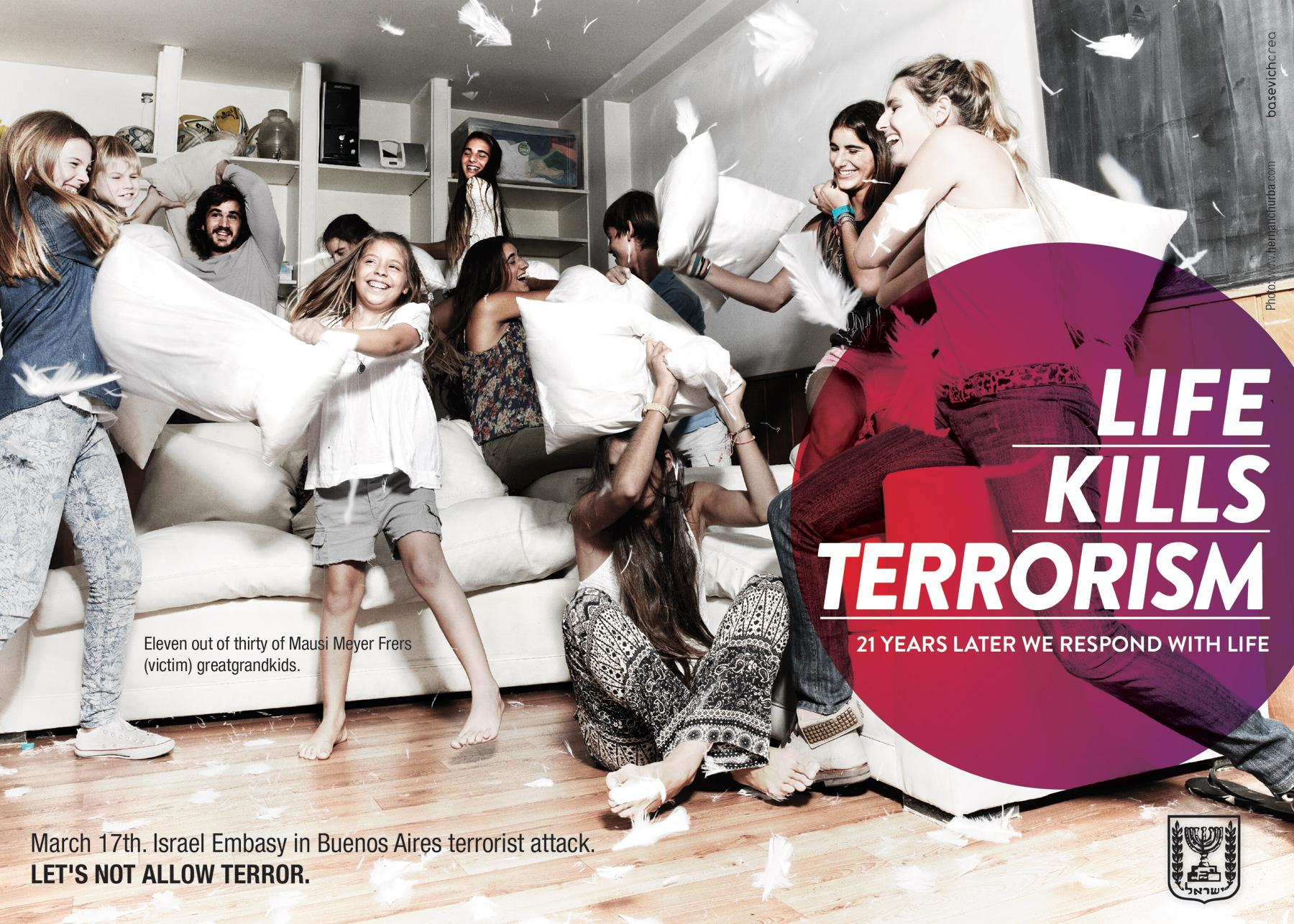 Embassy of Israel Print Ad -  Survivors, 20 Years Later, 1