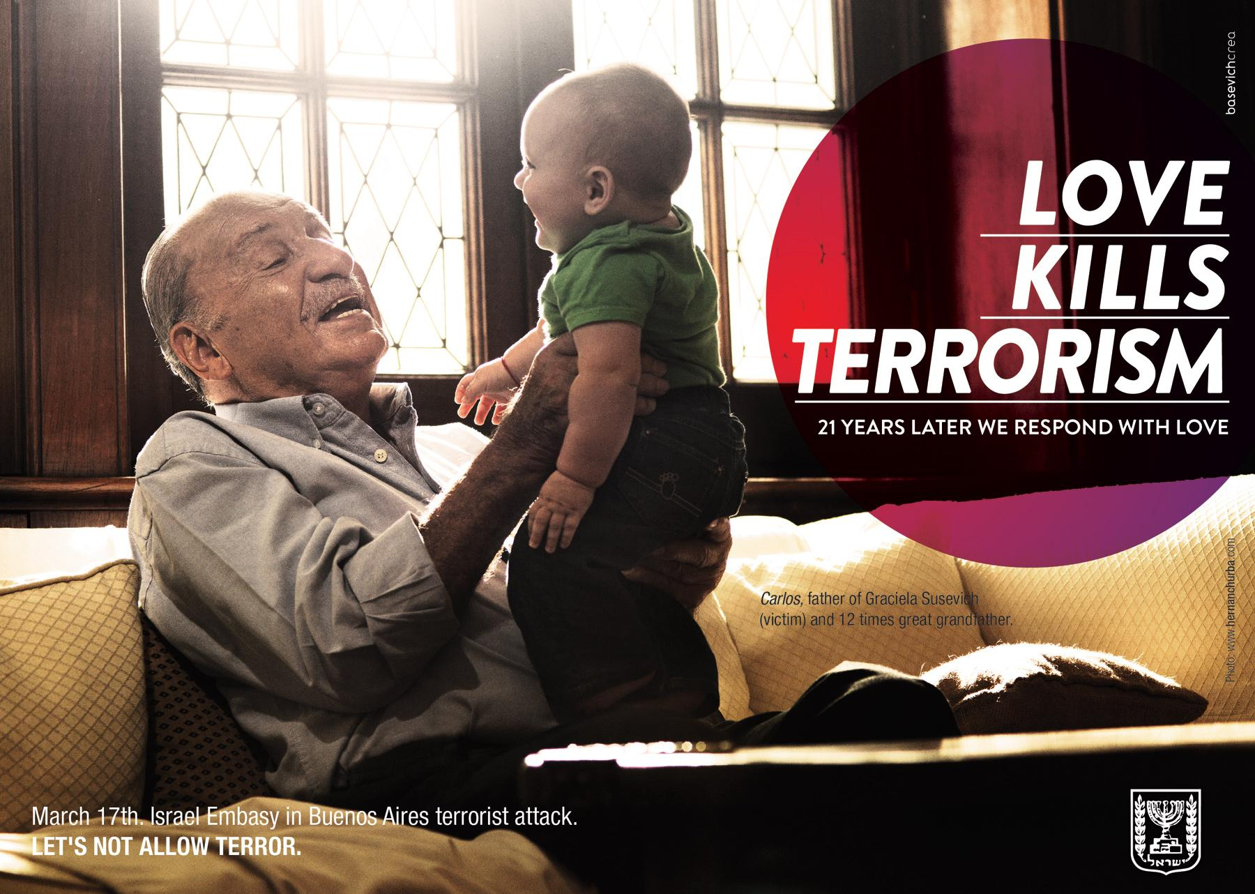 Embassy of Israel Print Ad -  Survivors, 20 Years Later, 2