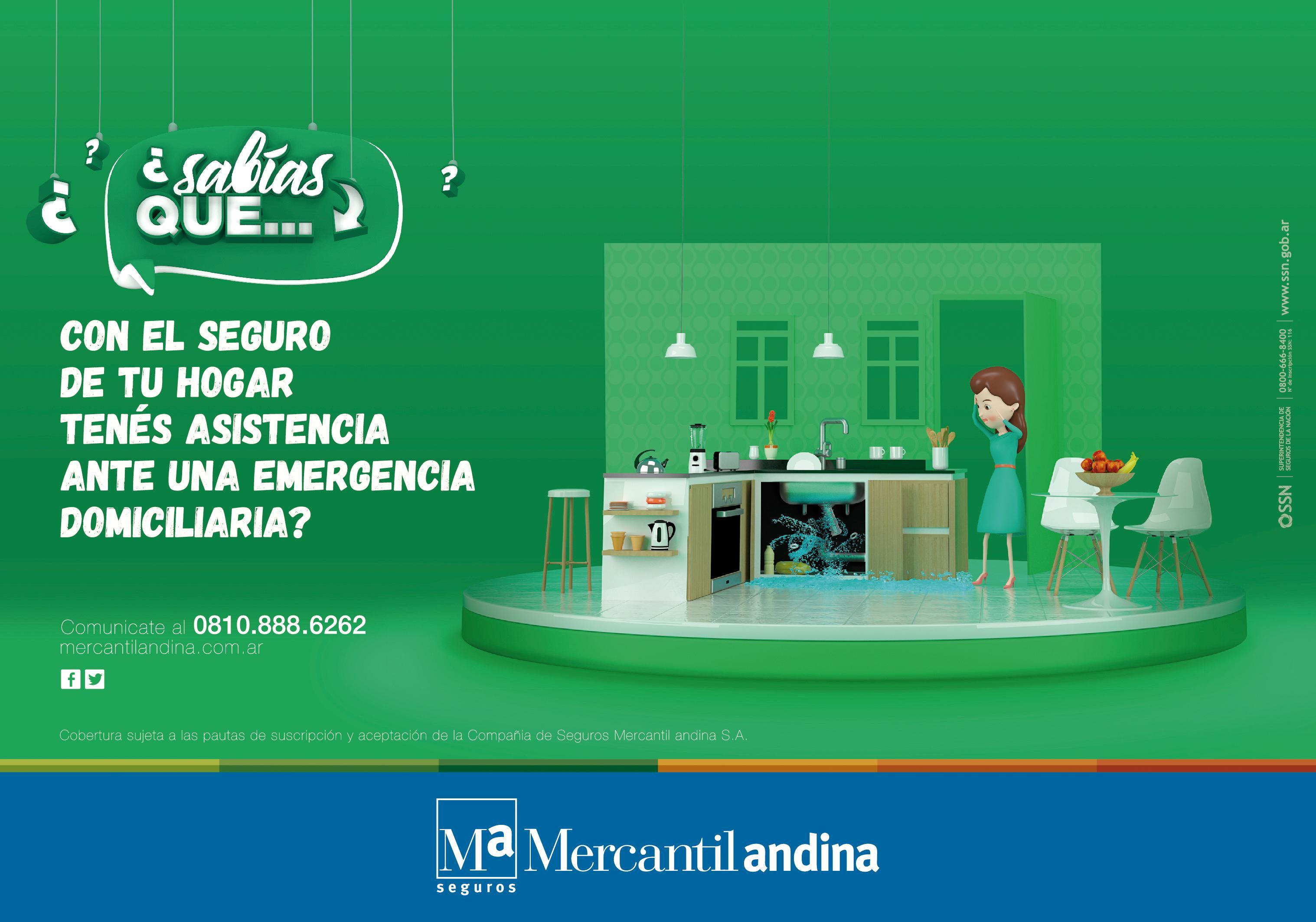 Mercantil Andina Print Ad - Emergency