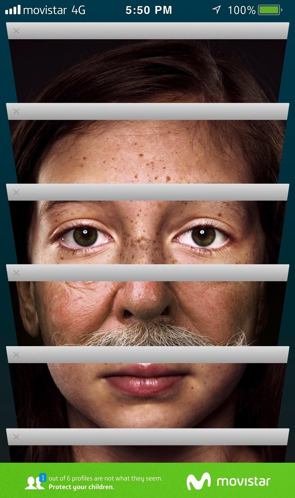 Movistar Print Ad - Tabs - Emma