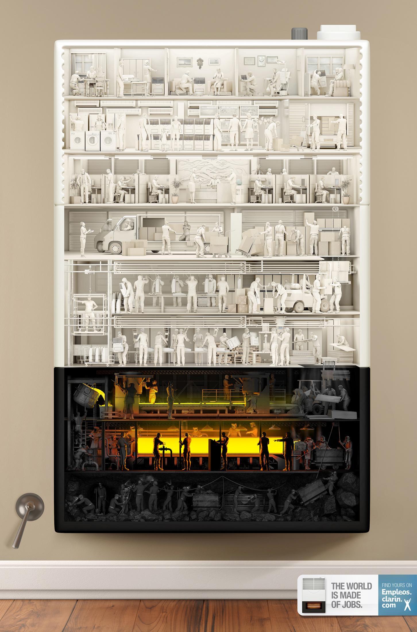Clarin Print Ad -  Heater