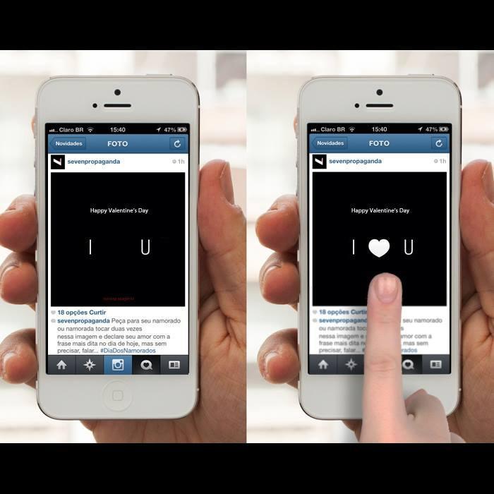 "Seven Propaganda Digital Ad -  A new way to say ""I love you"""
