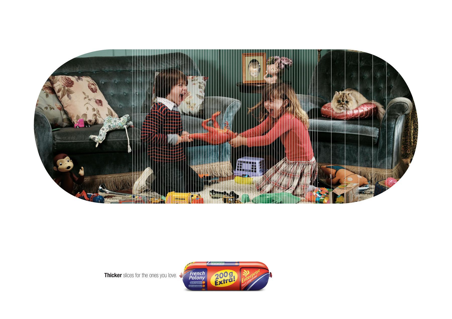 Enterprise Print Ad -  Fighting kids