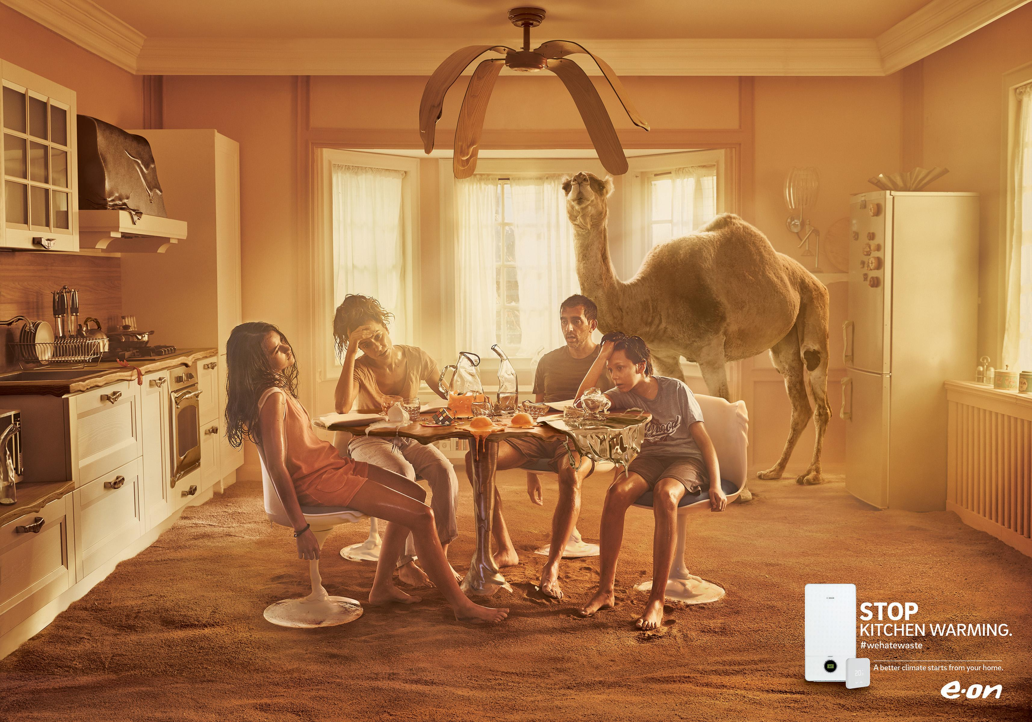 E.ON Print Ad - E.ON ClimaSmart – Kitchen