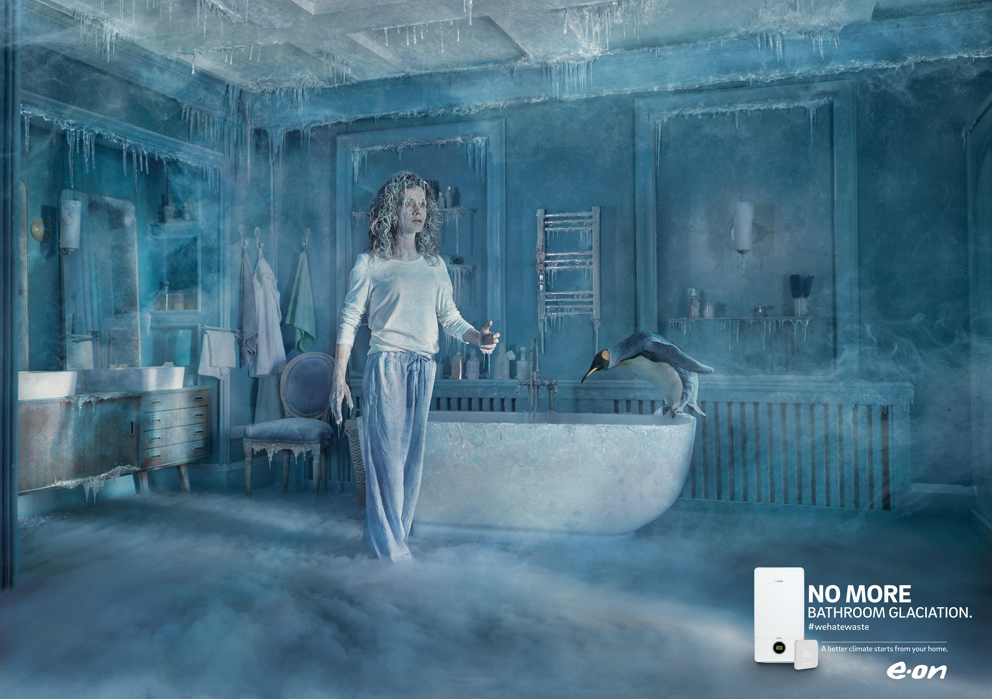 E.ON Print Ad - E.ON ClimaSmart – Bathroom