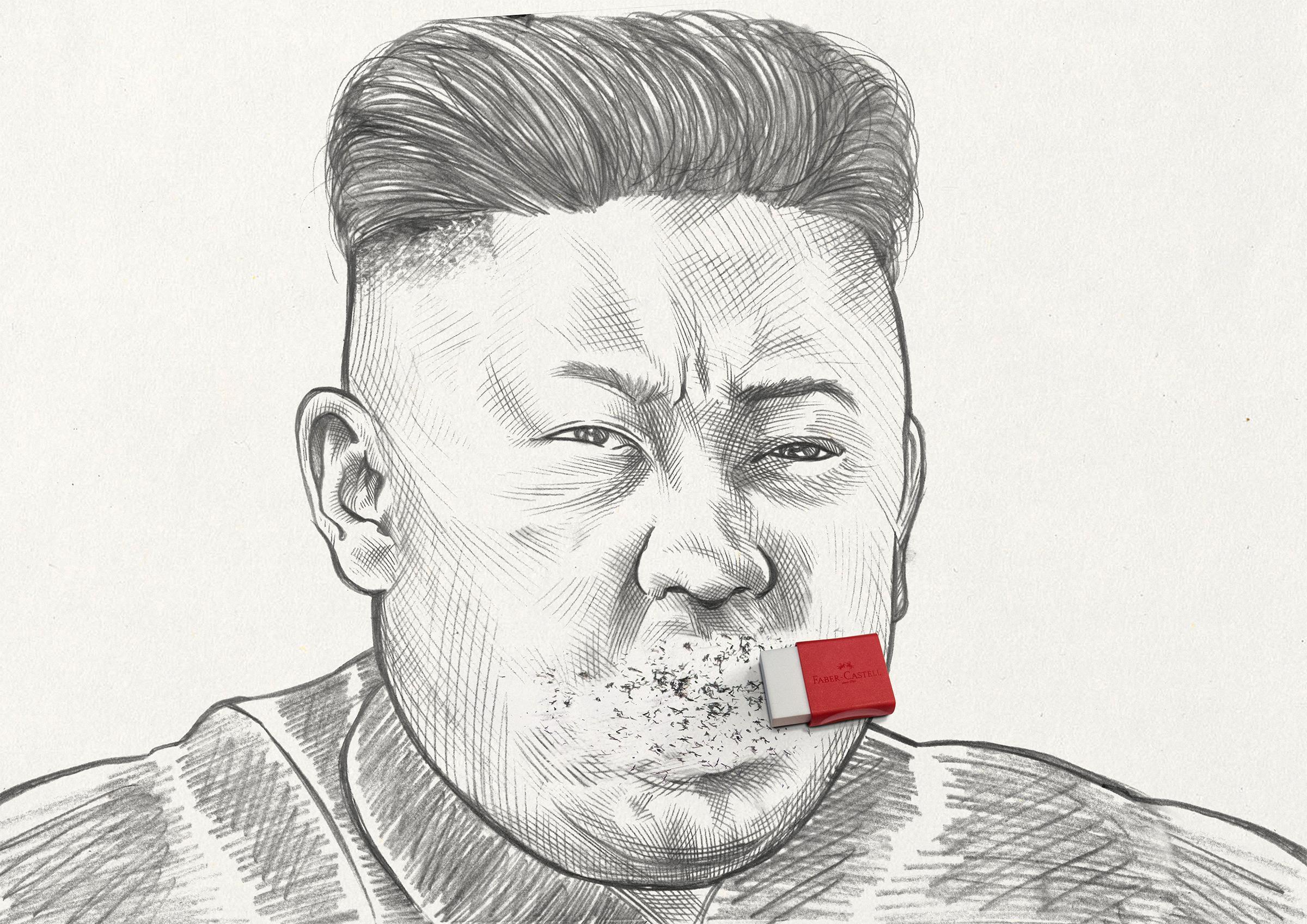 Faber Castell Print Ad - Erasing Mistakes - Kim
