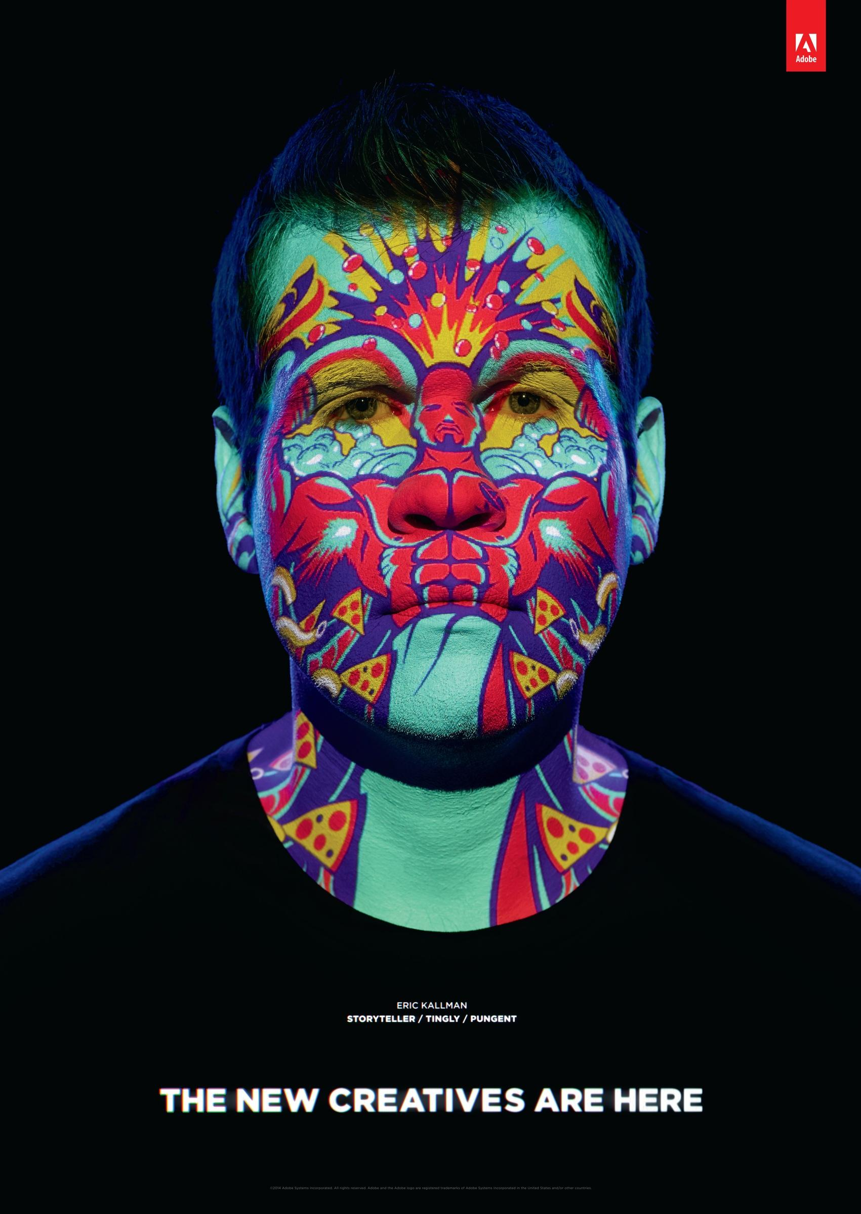 Adobe Print Ad -  Welcome to Cannes, Eric Kallman