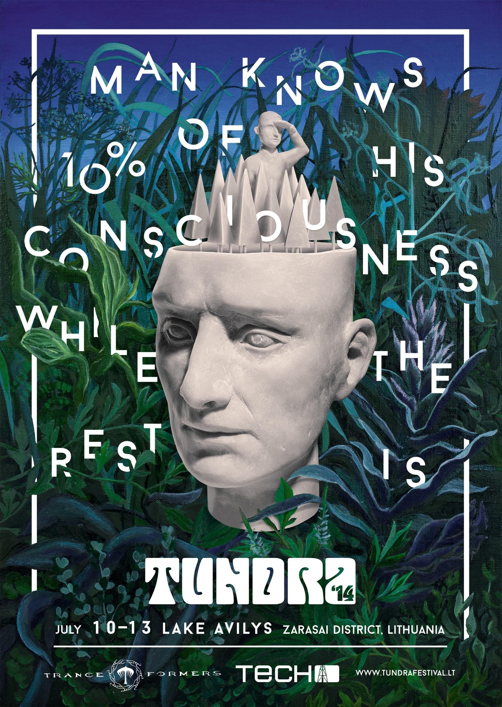 Tundra Festival Print Ad -  Escape