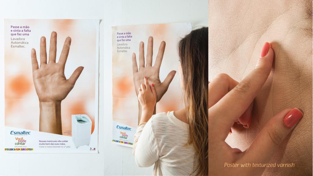 Esmaltec Outdoor Ad -  Hands