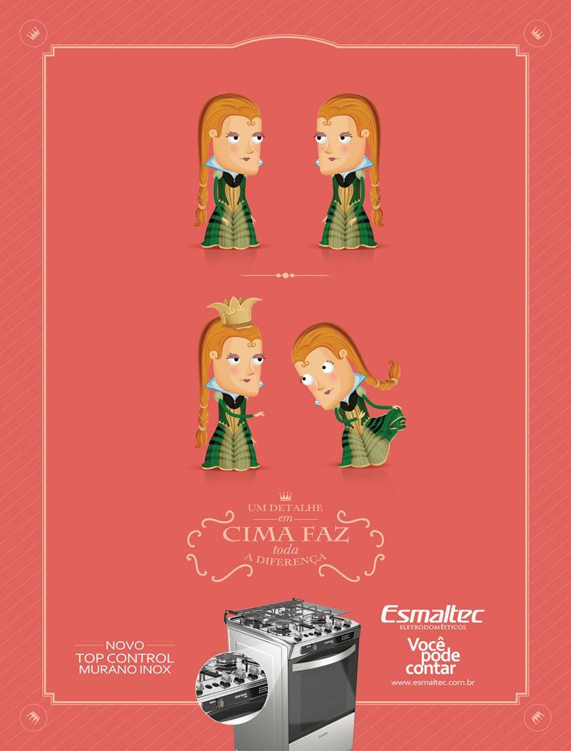 Esmaltec Print Ad -  Queen