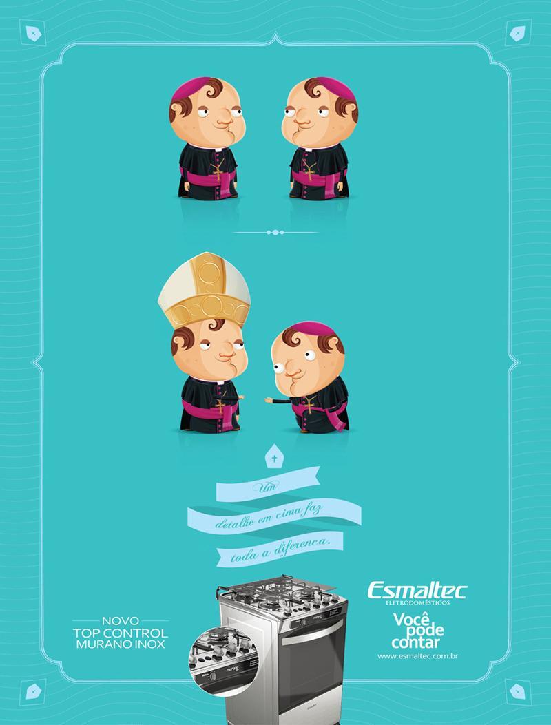 Esmaltec Print Ad -  Bishop