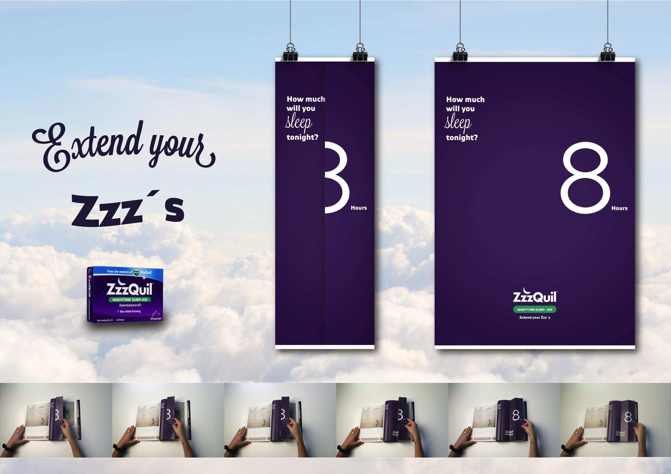 Zzzquil Print Ad - Extend your Zzz's