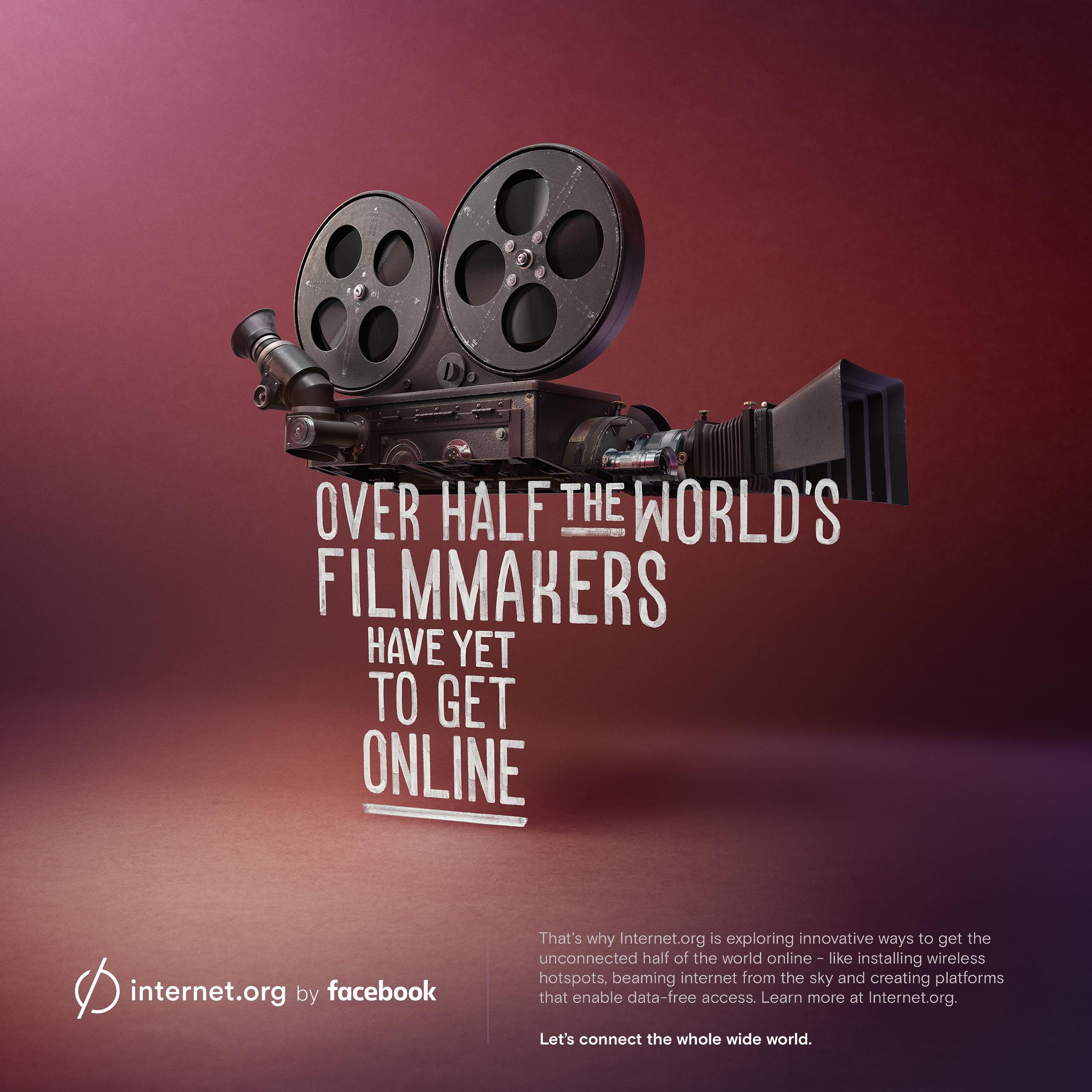 Facebook Print Ad - internet.org - Filmmakers