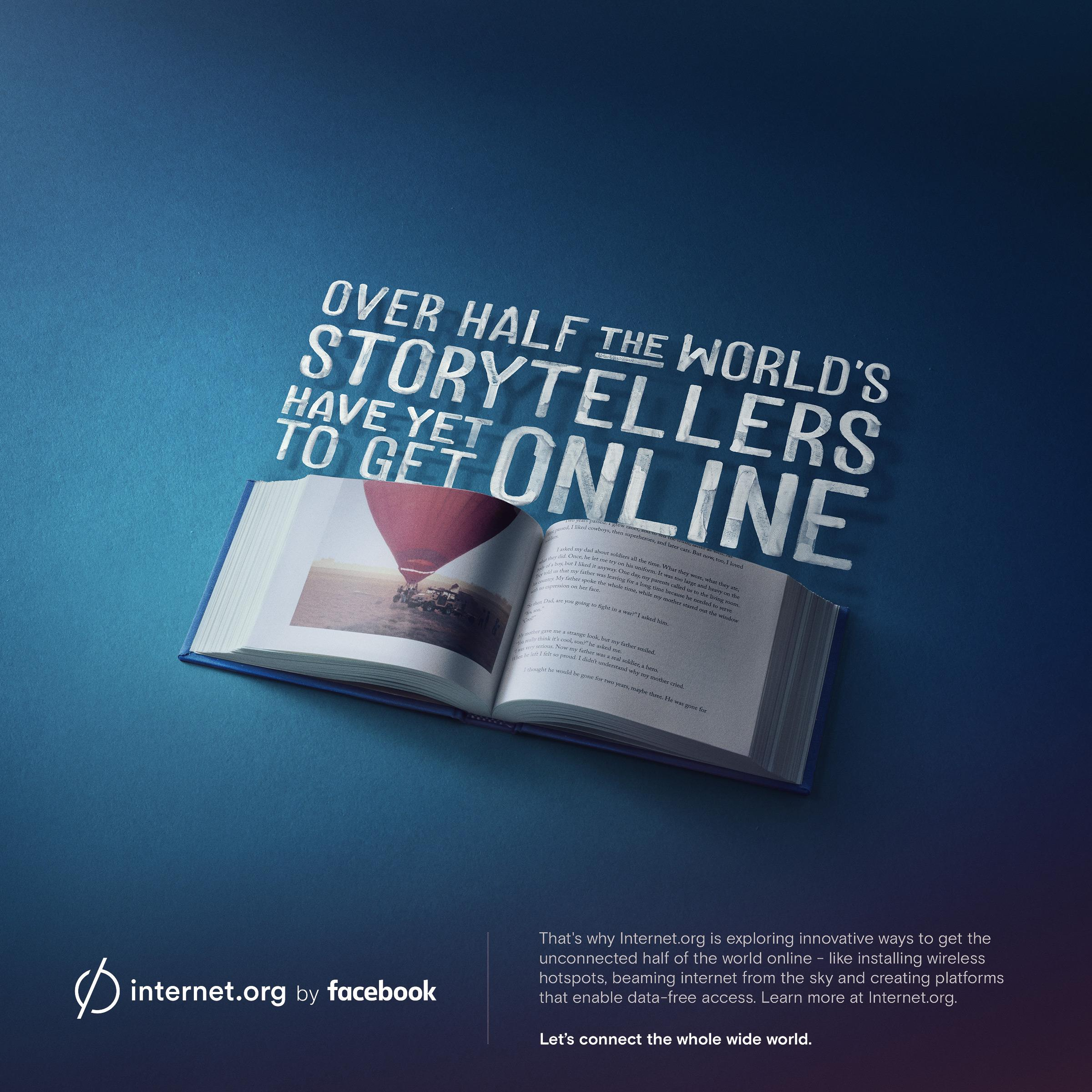 Facebook Print Ad - internet.org - Storytellers