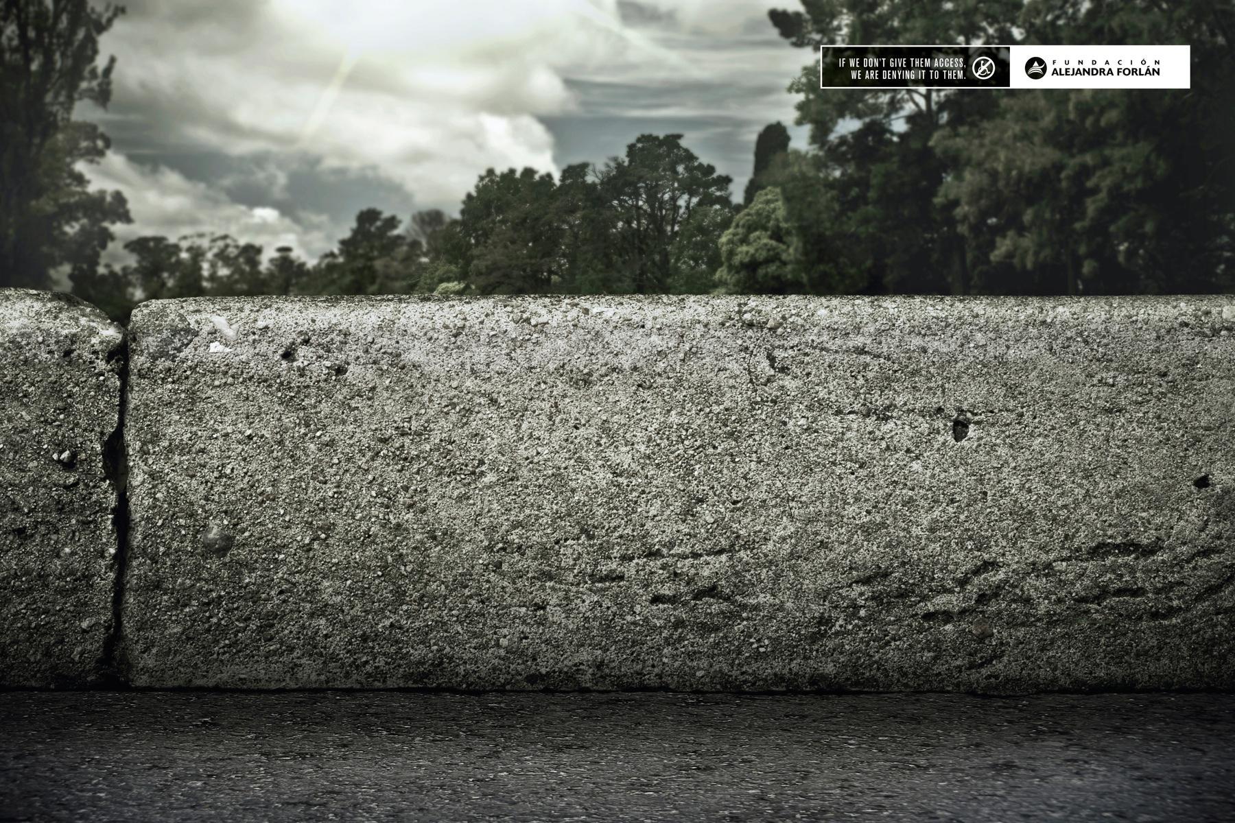Fundación Alejandra Forlán Print Ad -  Sidewalk, 3