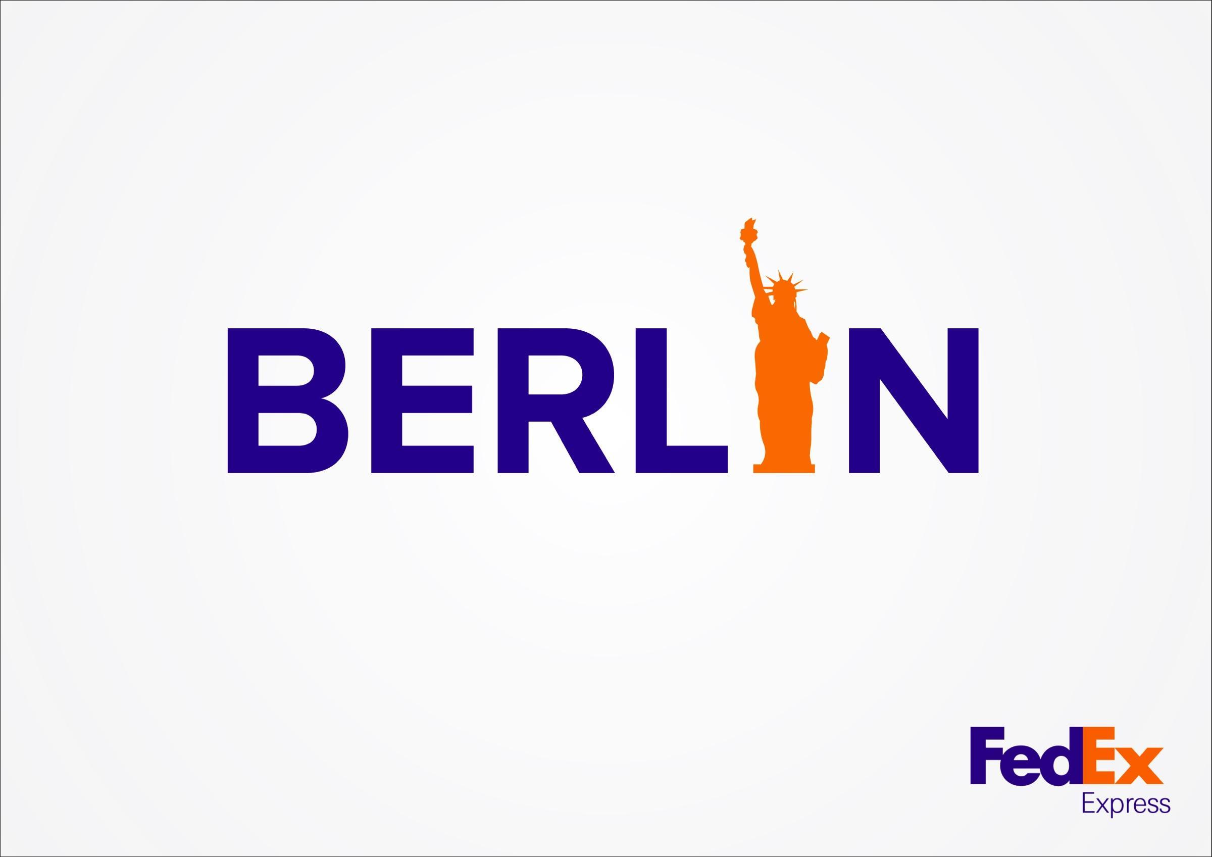 FedEx Print Ad -  Berlin-NYC