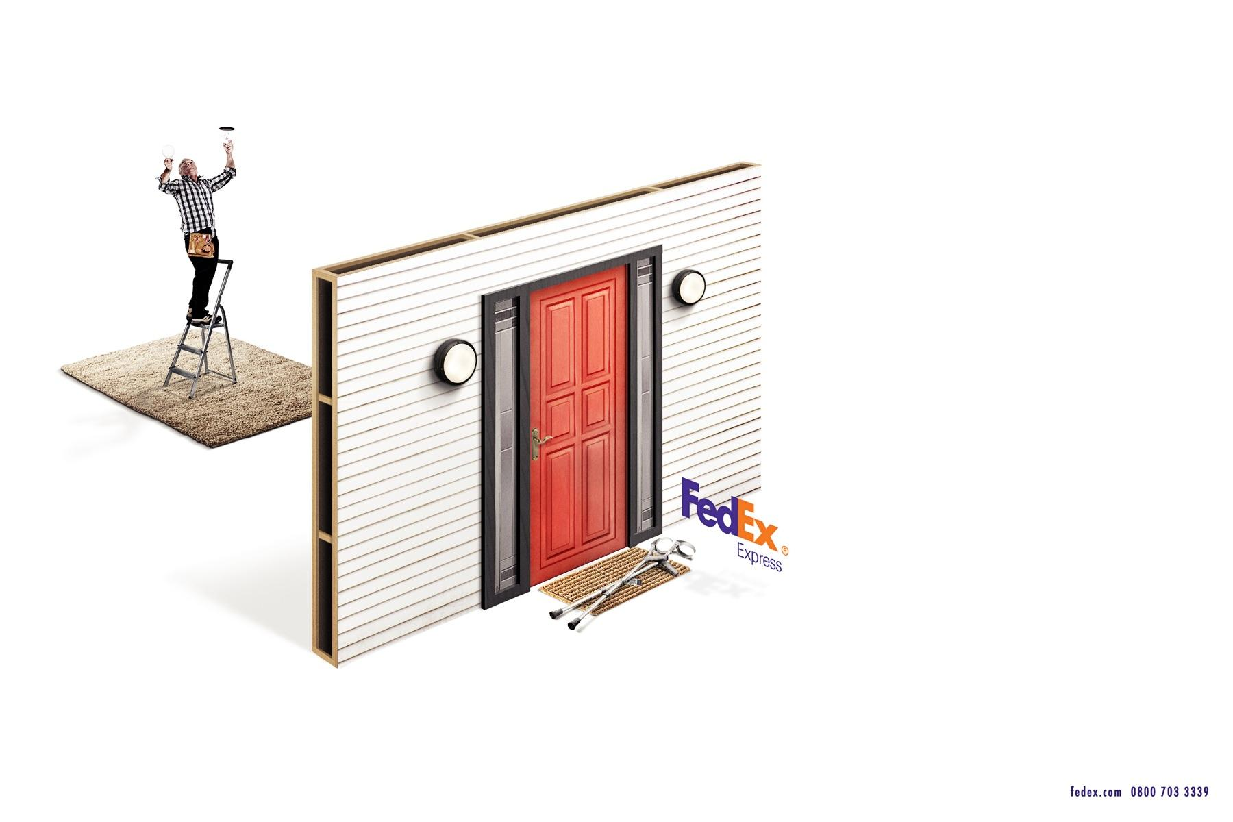 FedEx Print Ad -  Crutches