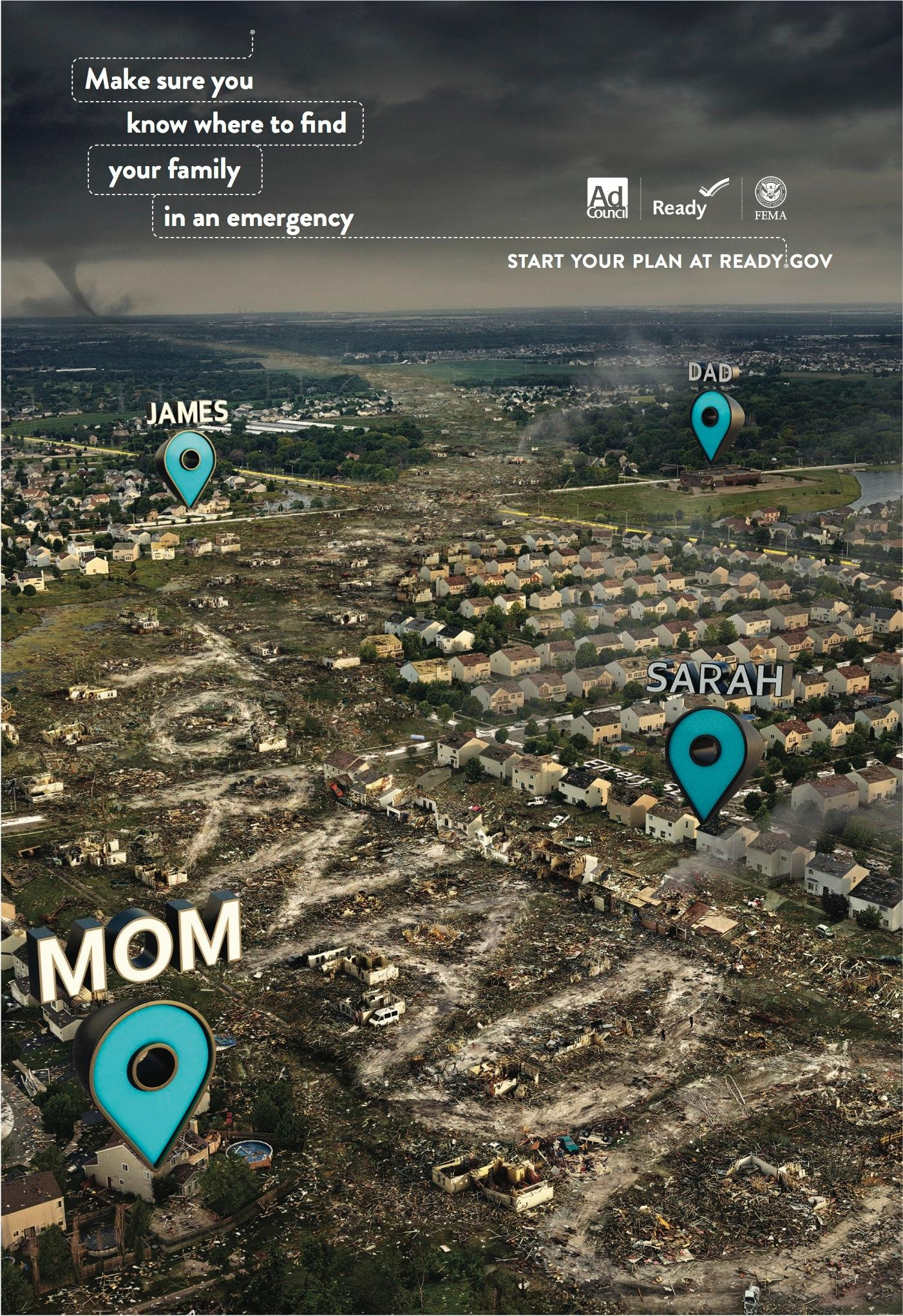FEMA Print Ad -  Tornado