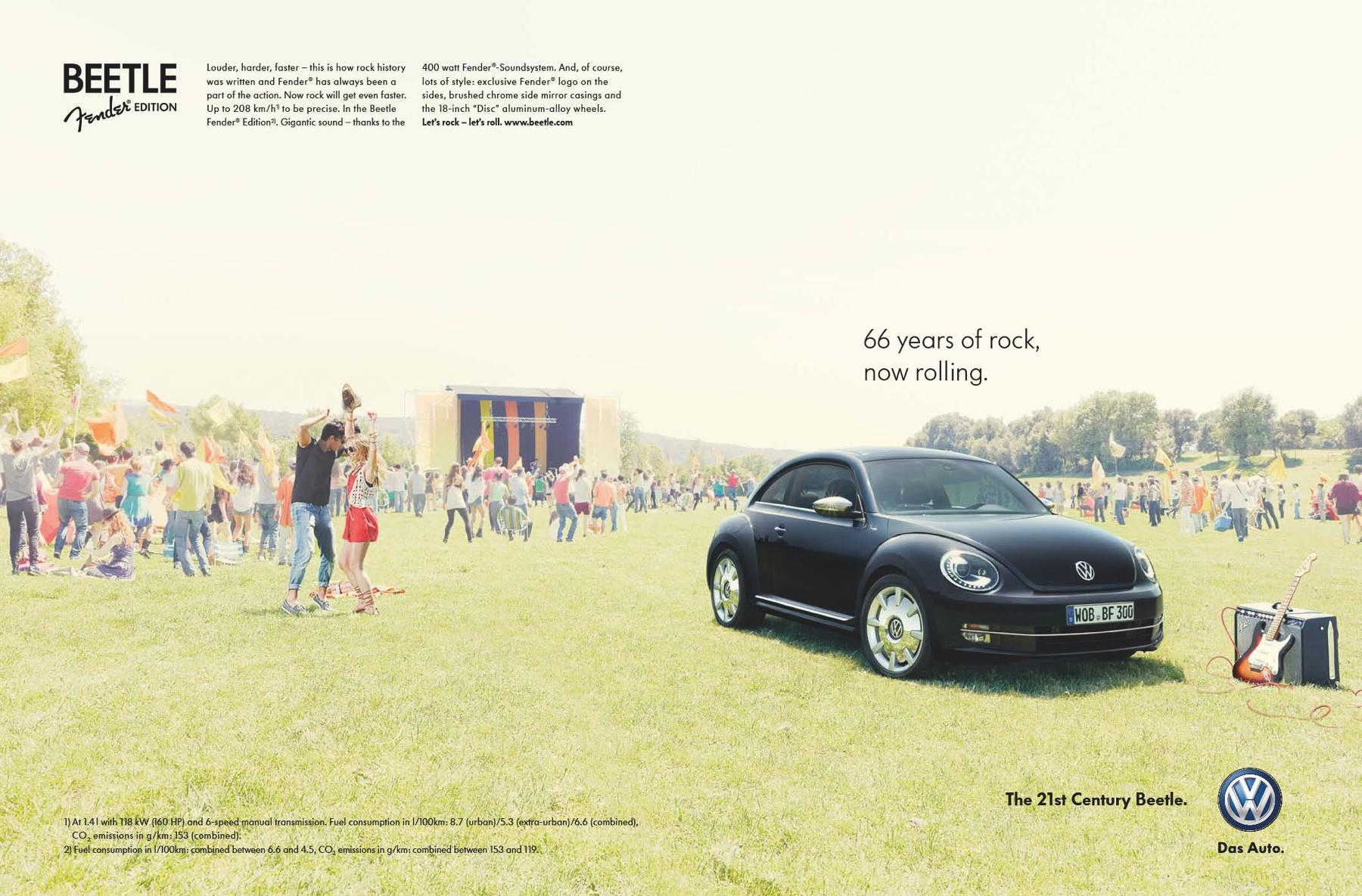 Volkswagen Print Ad -  Fender Edition, 2