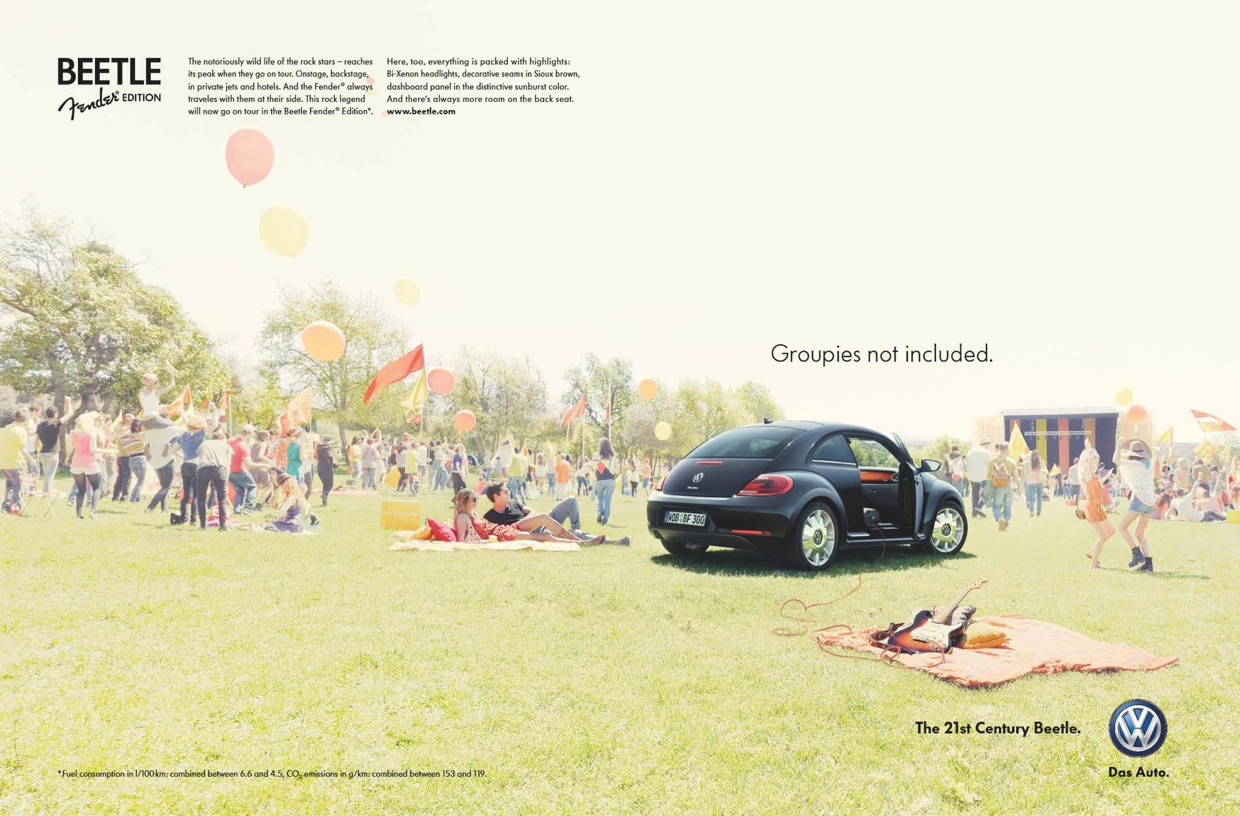 Volkswagen Print Ad -  Fender Edition, 3