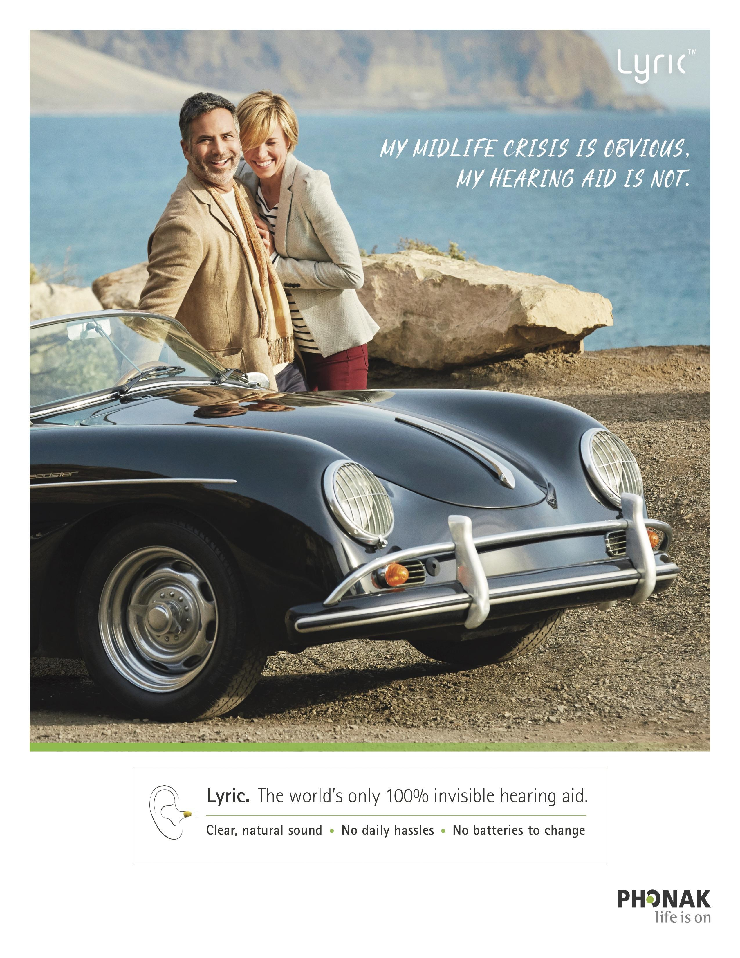 Phonak Print Ad - Midlife crisis